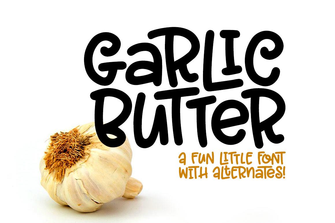 Missy Meyer Font Maker Romance Novelist Illustrator Cat Lady Garlic Butter A Tasty Fun Font