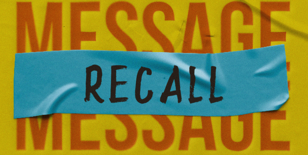 Message Recall