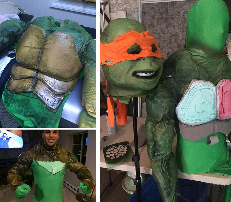 Renot lopes ninja turtle costume solutioingenieria Image collections
