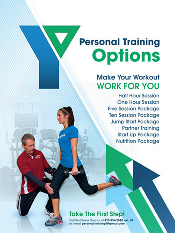 bryan culleny ymca personal training poster