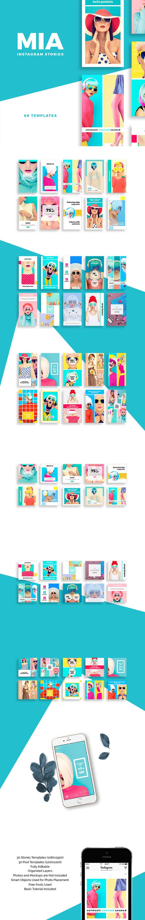 SlideStation - Mia Instagram Stories Pack
