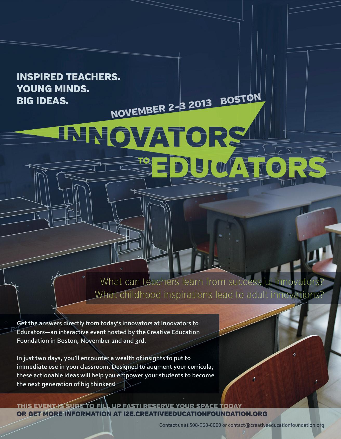 jsh Innovators to Educators Branding Identity