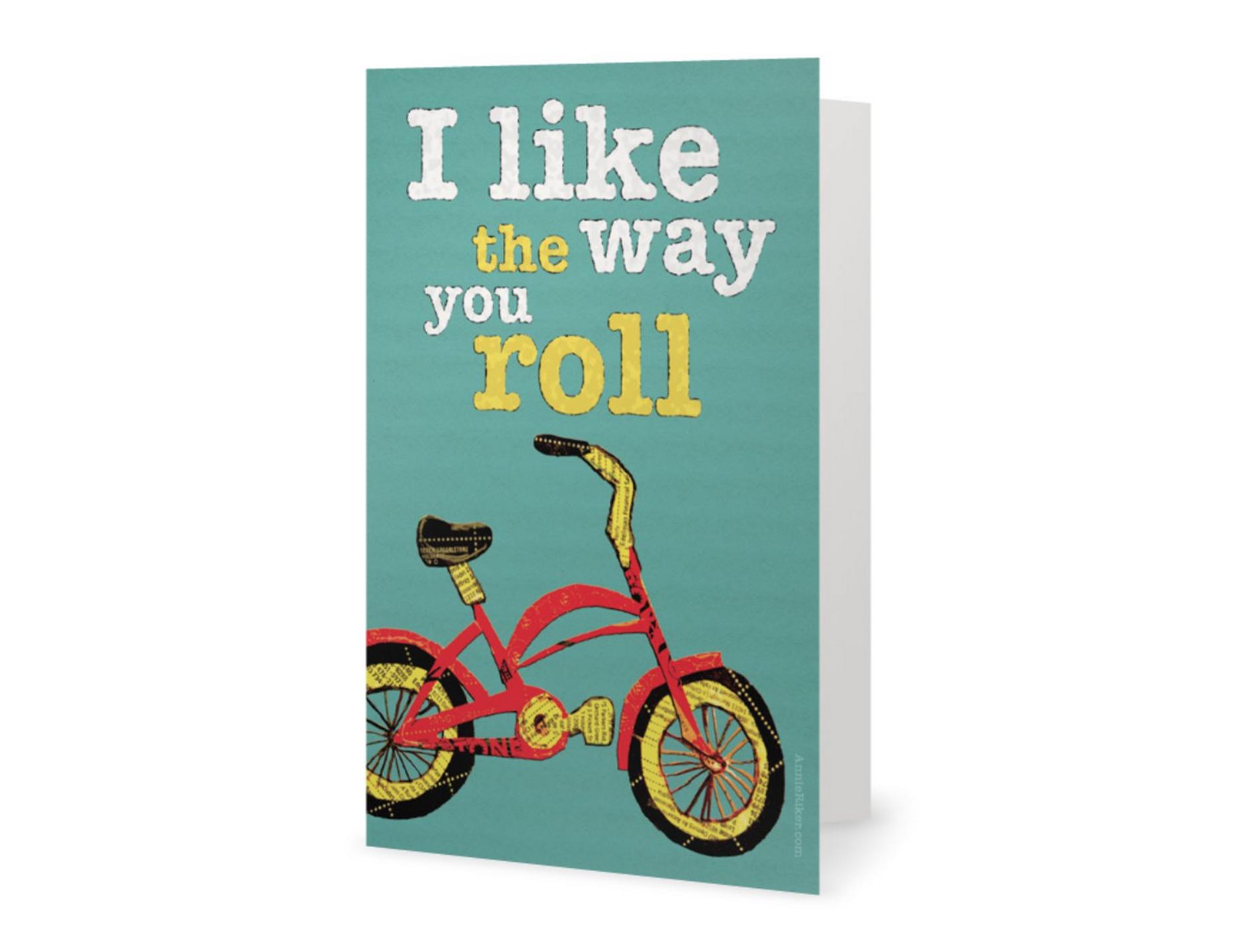 Annie riker bike lover greeting cards bike lover greeting cards m4hsunfo