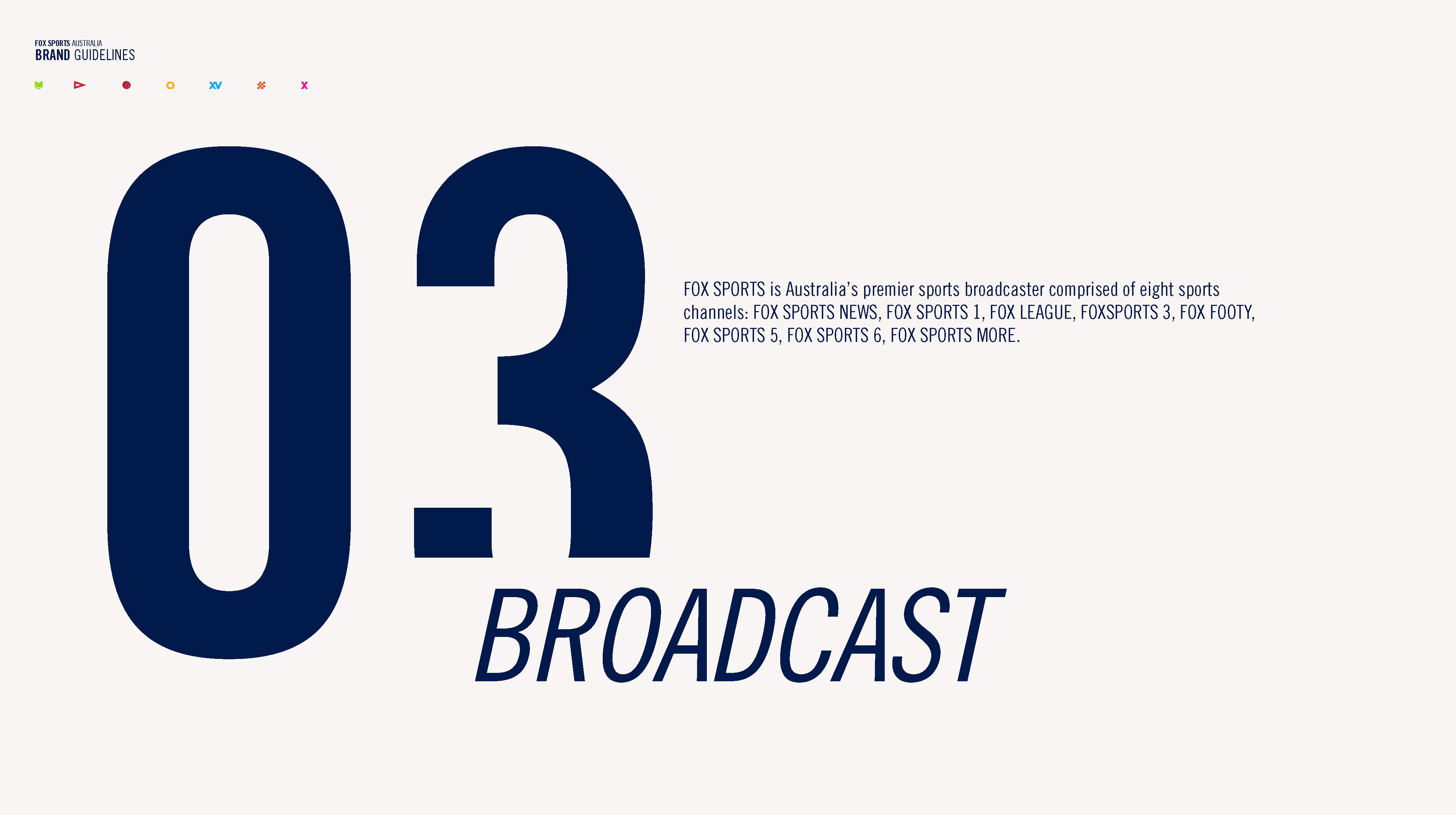 To Be Revealed - FOX SPORTS Brand Guidelines