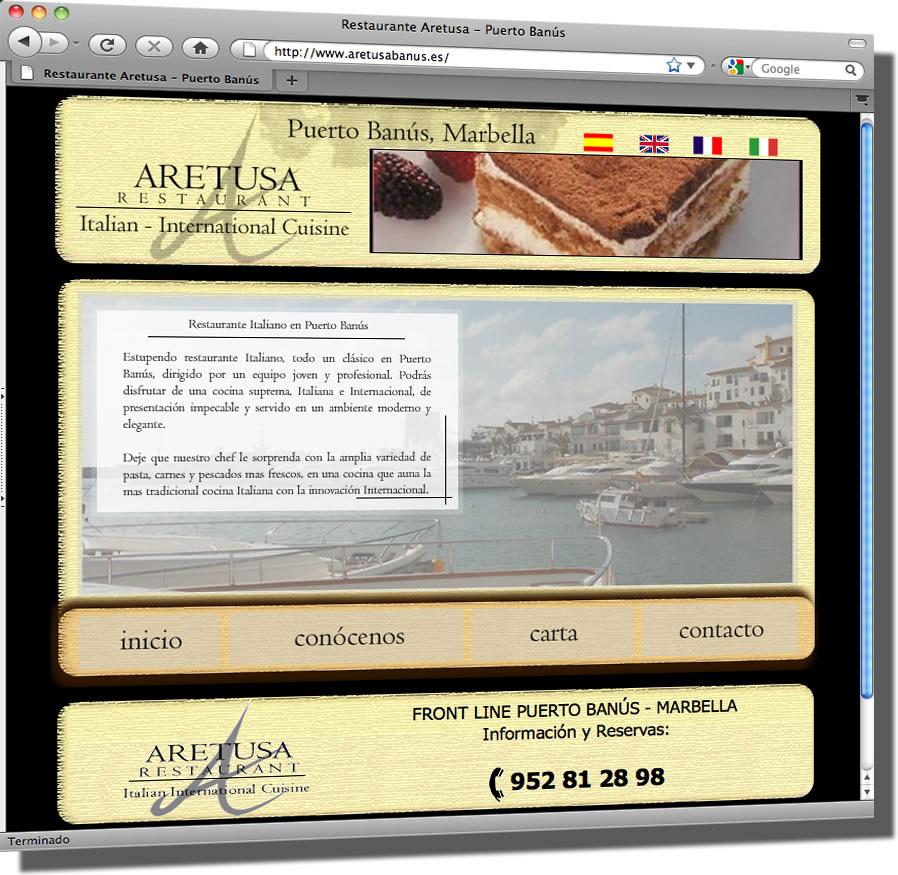 Philippe Reifenrath Website Of Aretusa Restaurant