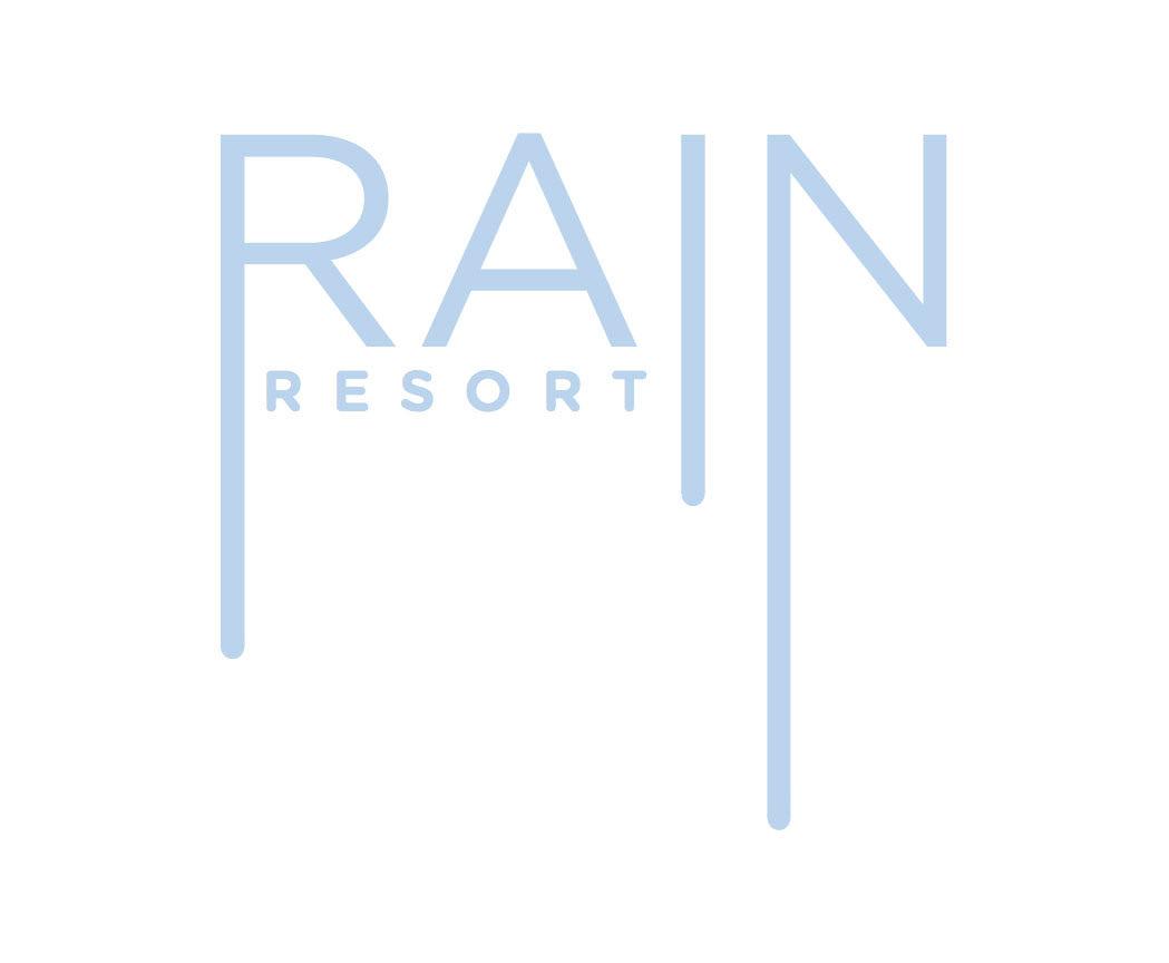 megan collins design - Rain Resort   Logo & Branding