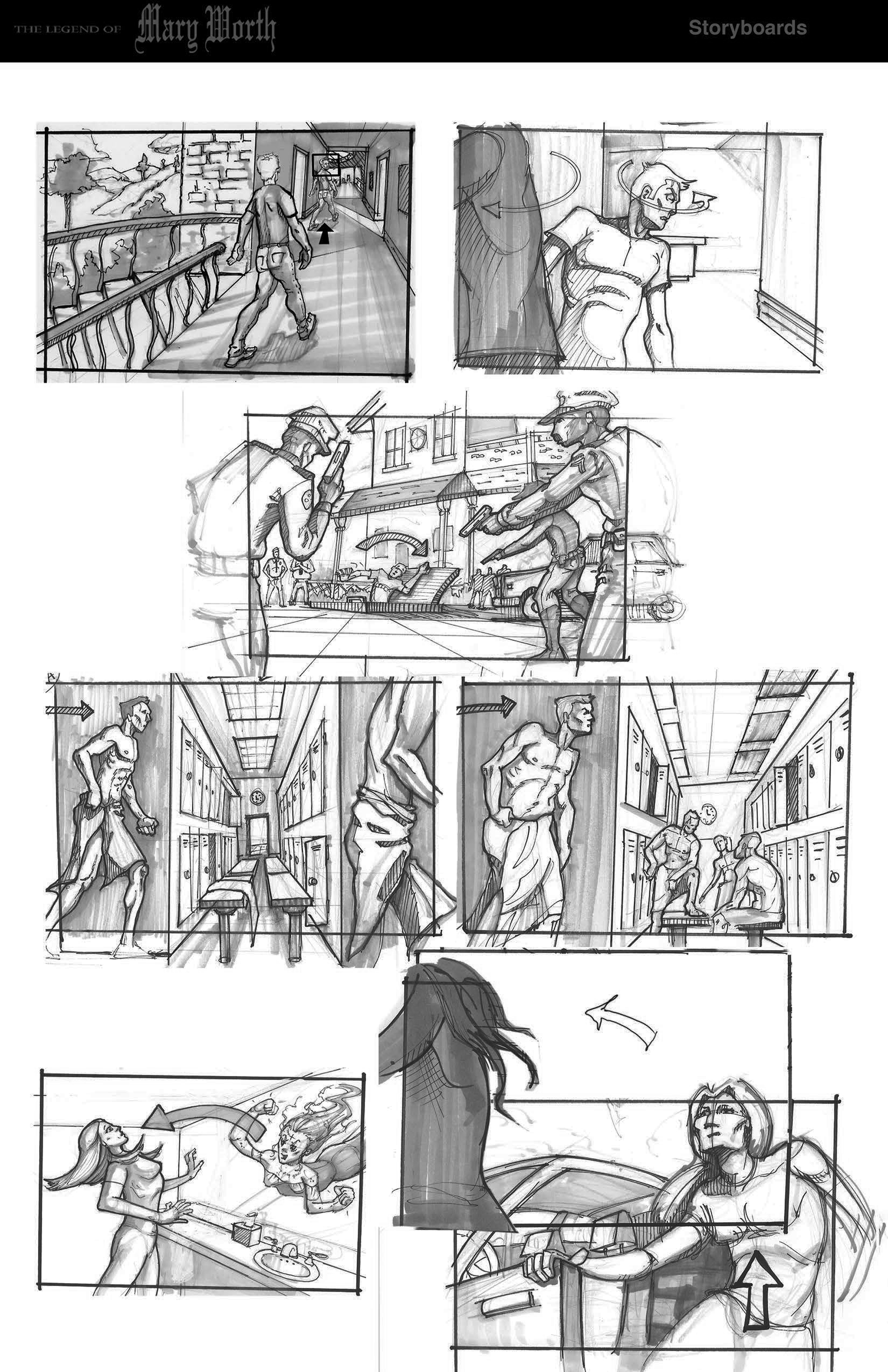 Visual Storyboards | Jeremy Steiner Storyboards