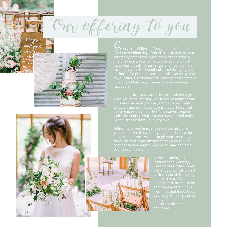 Andrea Thorpe Greenacres Weddings