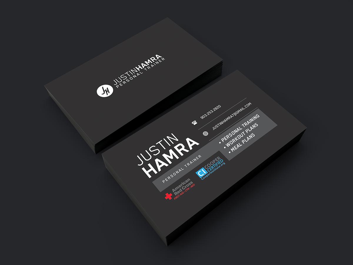 Socia visual hamra personal training business cards hamra personal training business cards colourmoves