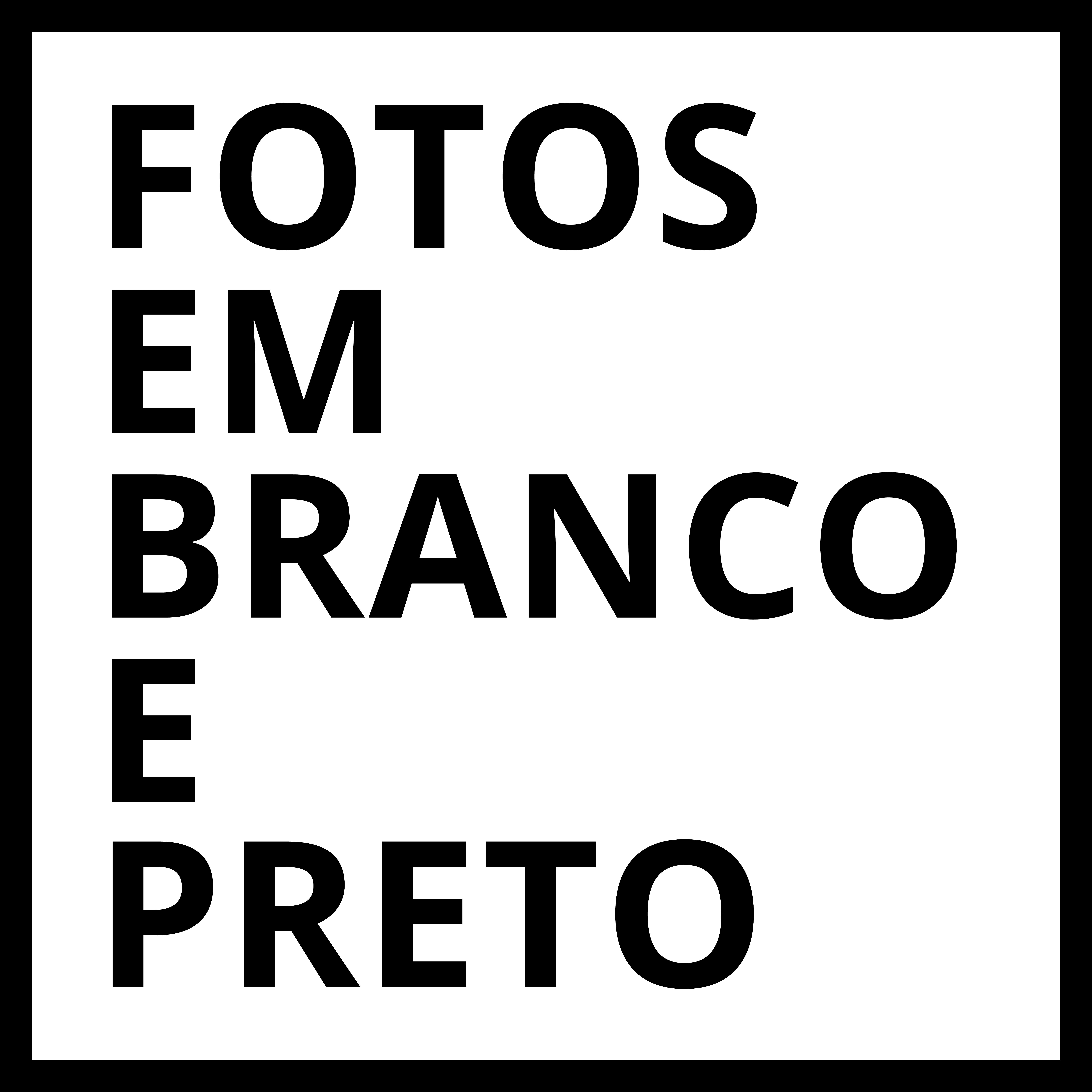 Fotos em branco e preto