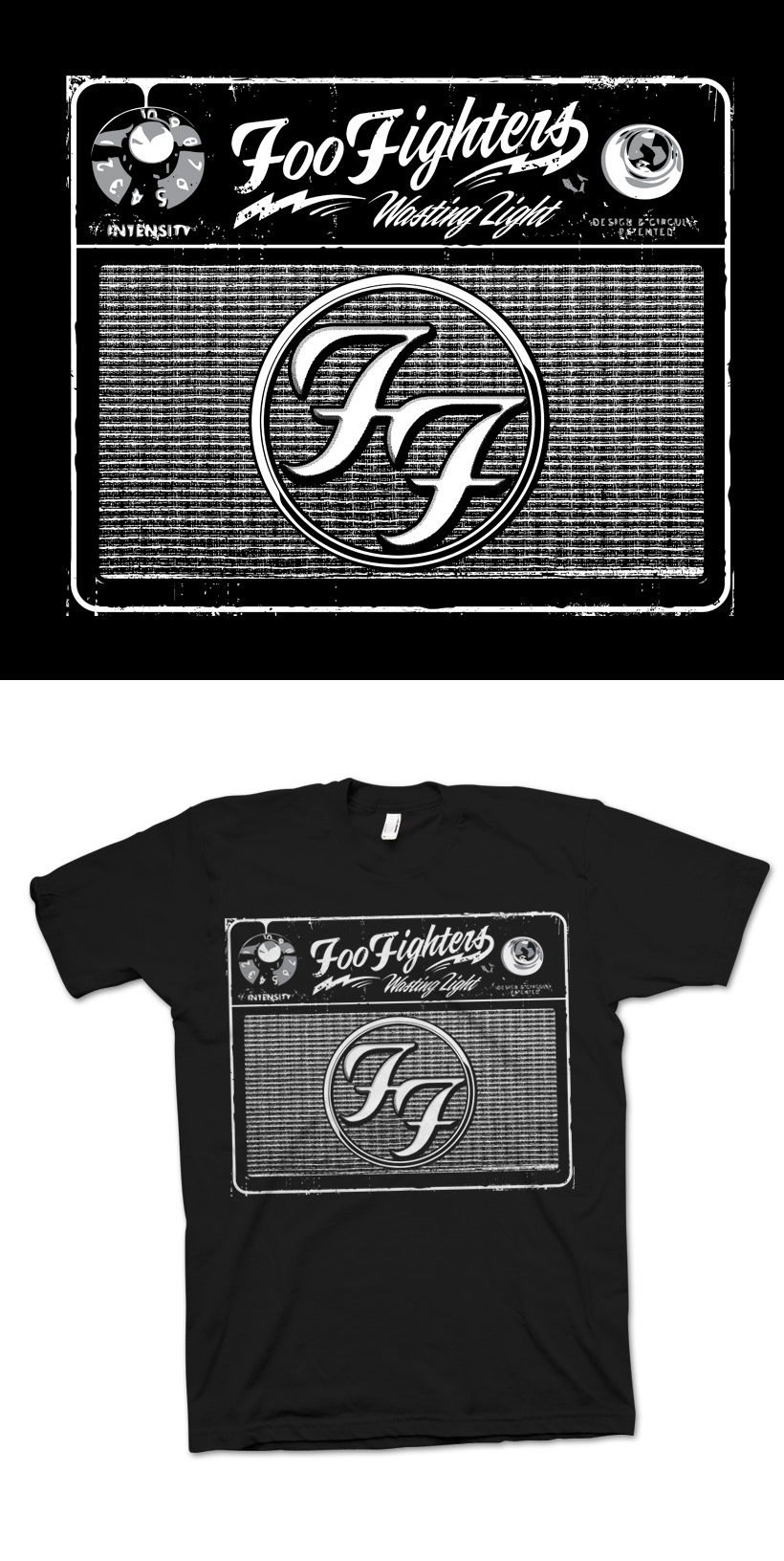 new product 55efa a2b27 jeremy packer - Foo Fighters Merch Design