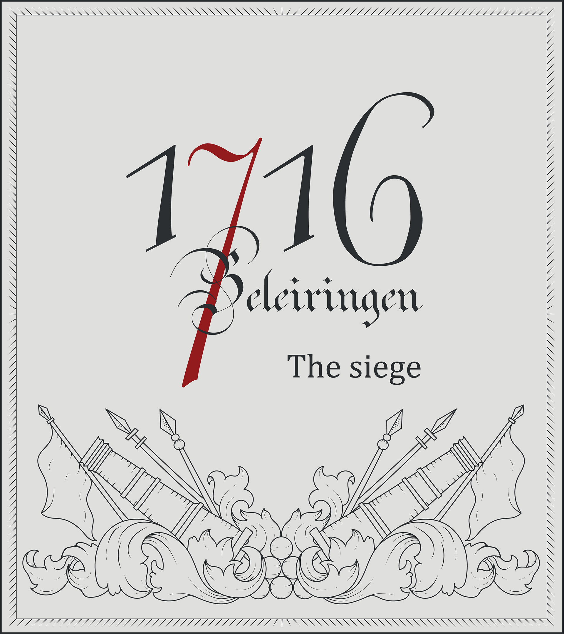 ... in Oslo about the siege in Norway in 1716. I helped with their  exhibition logo and designed the illustration and the over all layout for  the exhibition.
