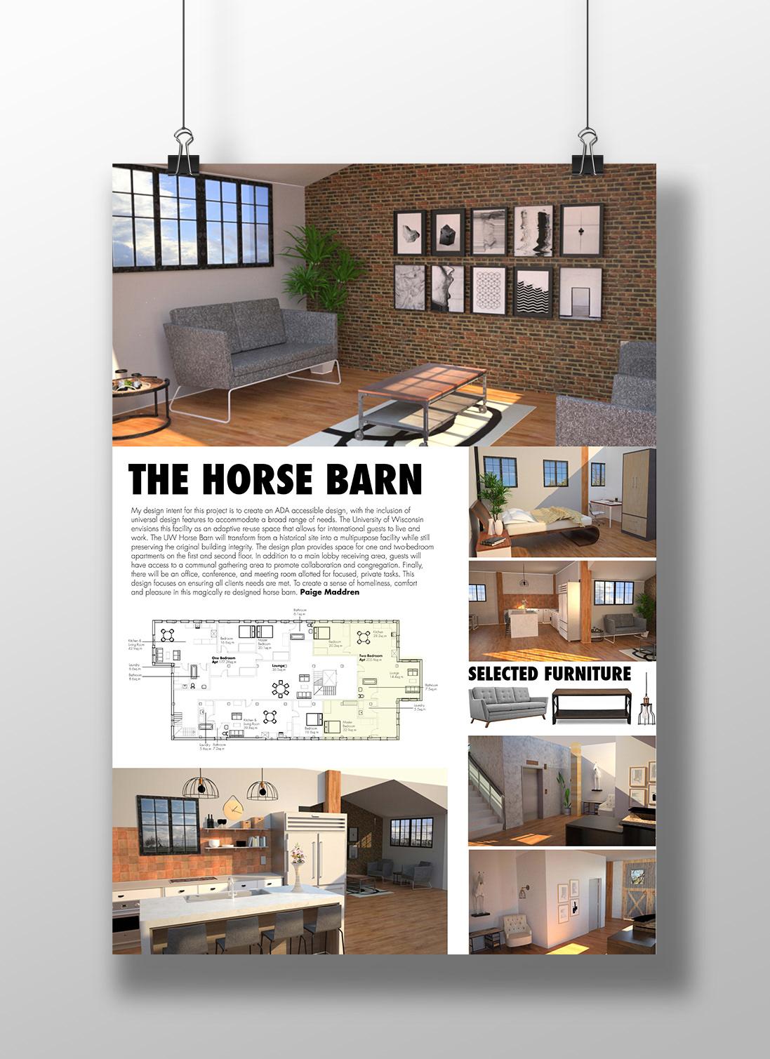 Paige Maddren - UW Horse Barn Apartments