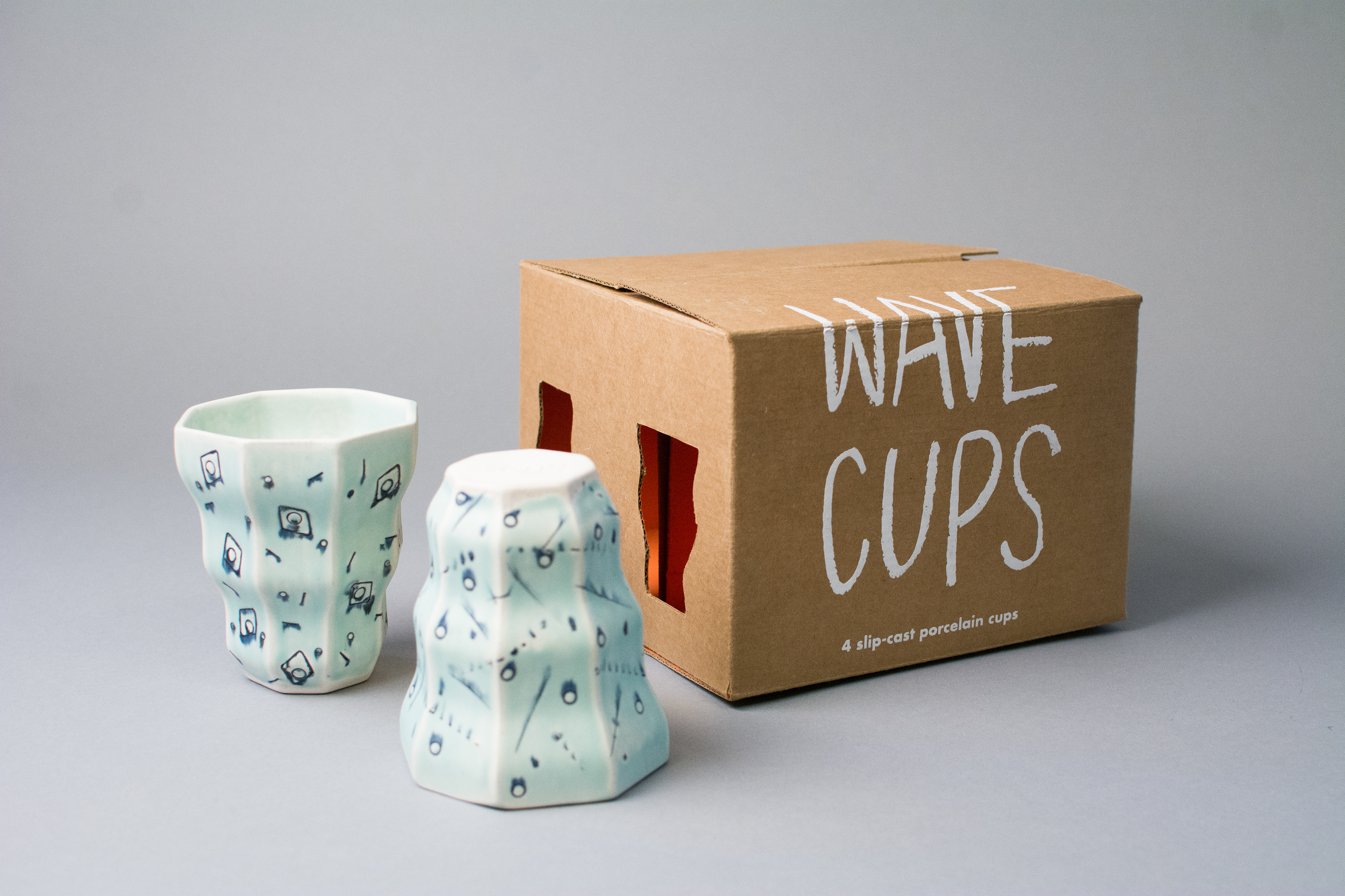 The Product Wave Cups Handmade
