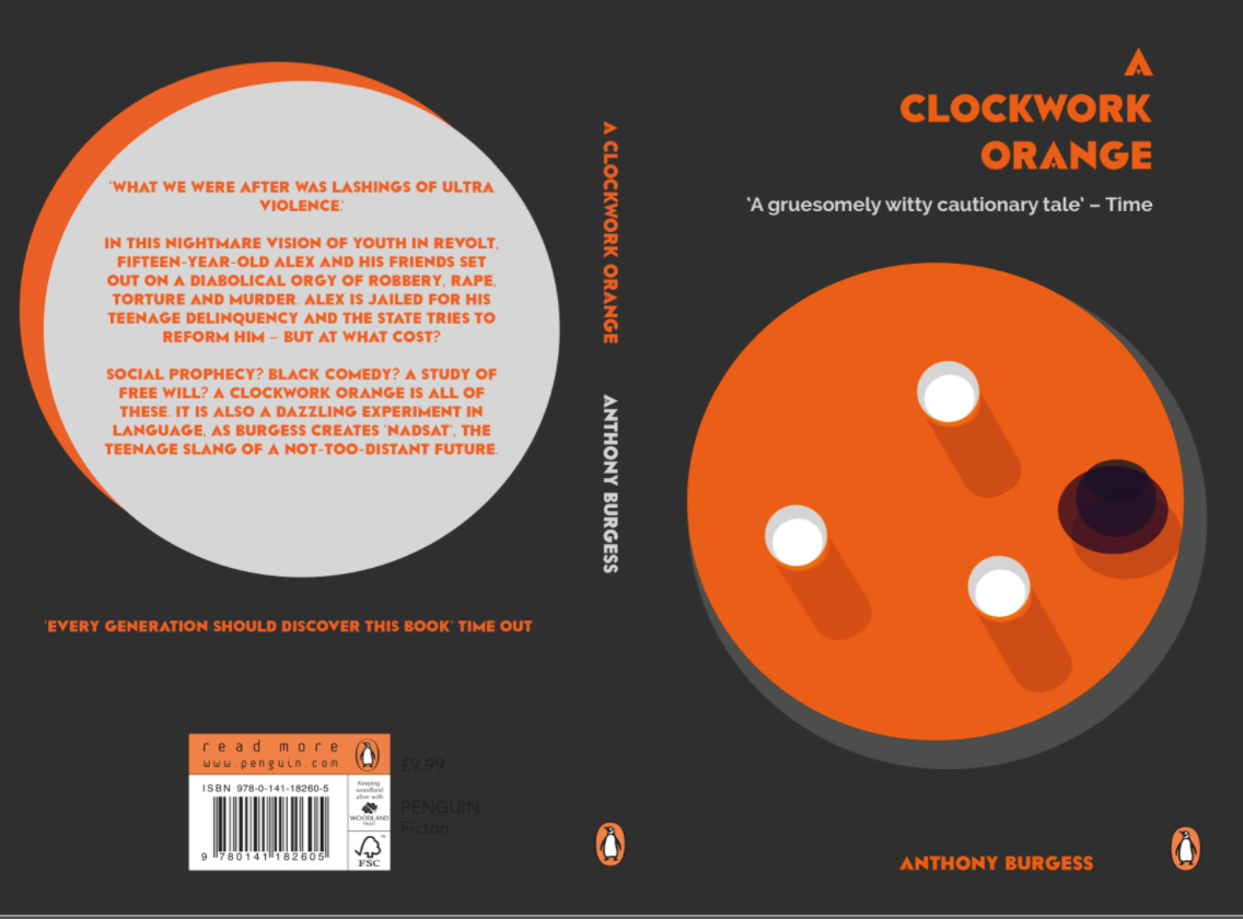 the freedom of choice in anthony burgess a clockwork orange A clockwork orange is a dystopian satirical black comedy novel by english writer anthony burgess, published in 1962 it is set in a near future english society featuring a subculture of extreme youth.