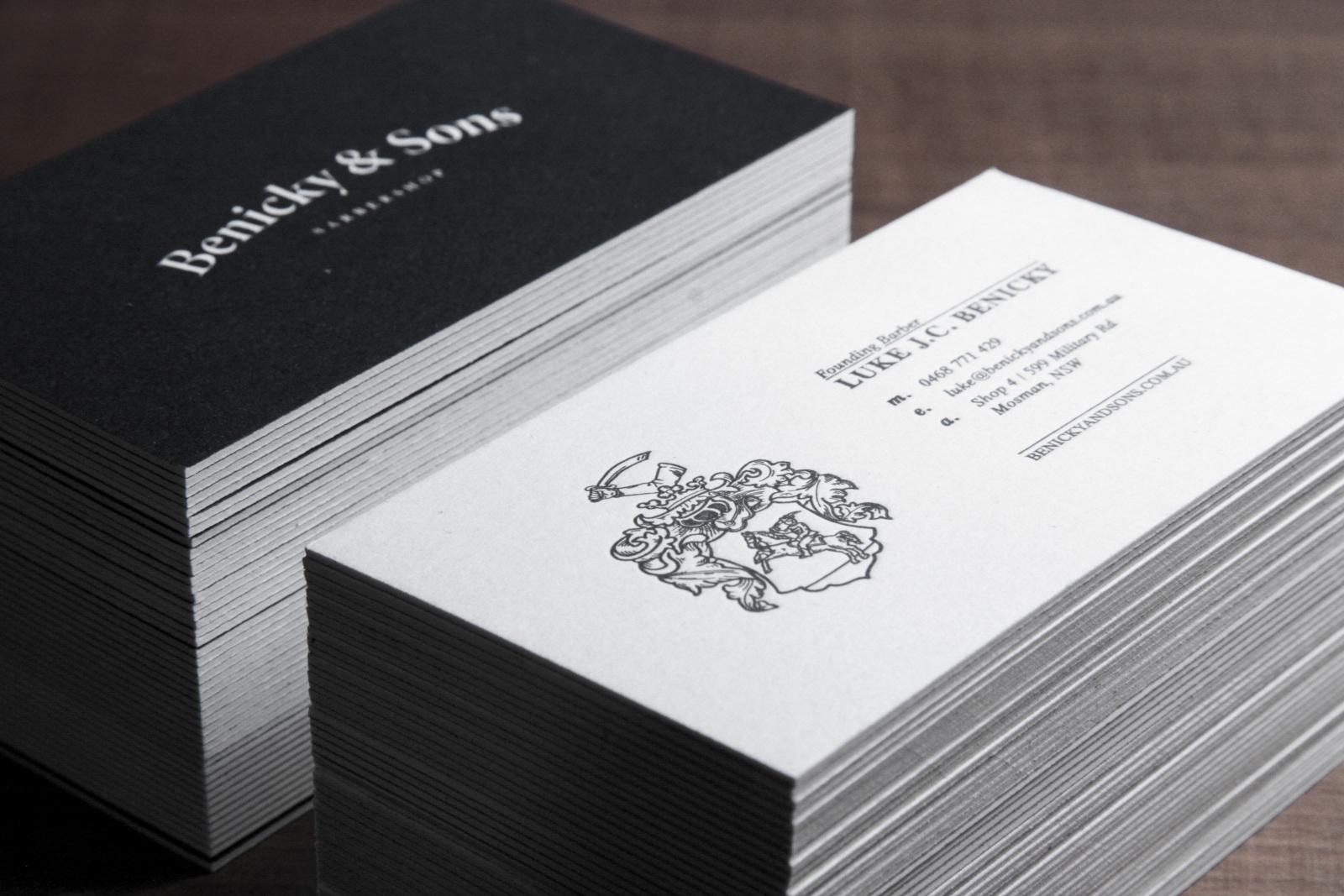 Daniel Malik   Design Portfolio - Benicky & Sons Print Design
