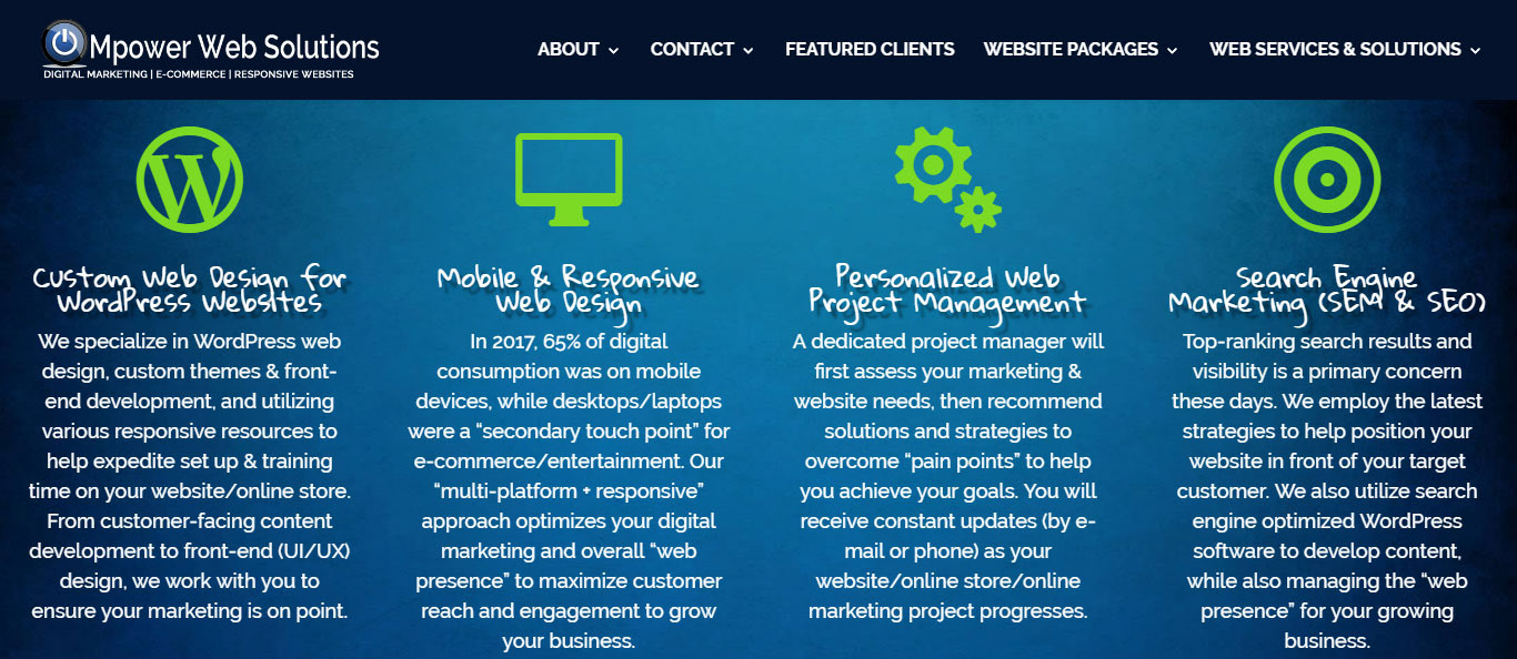 aa33247f57 Web Services   Solutions Section