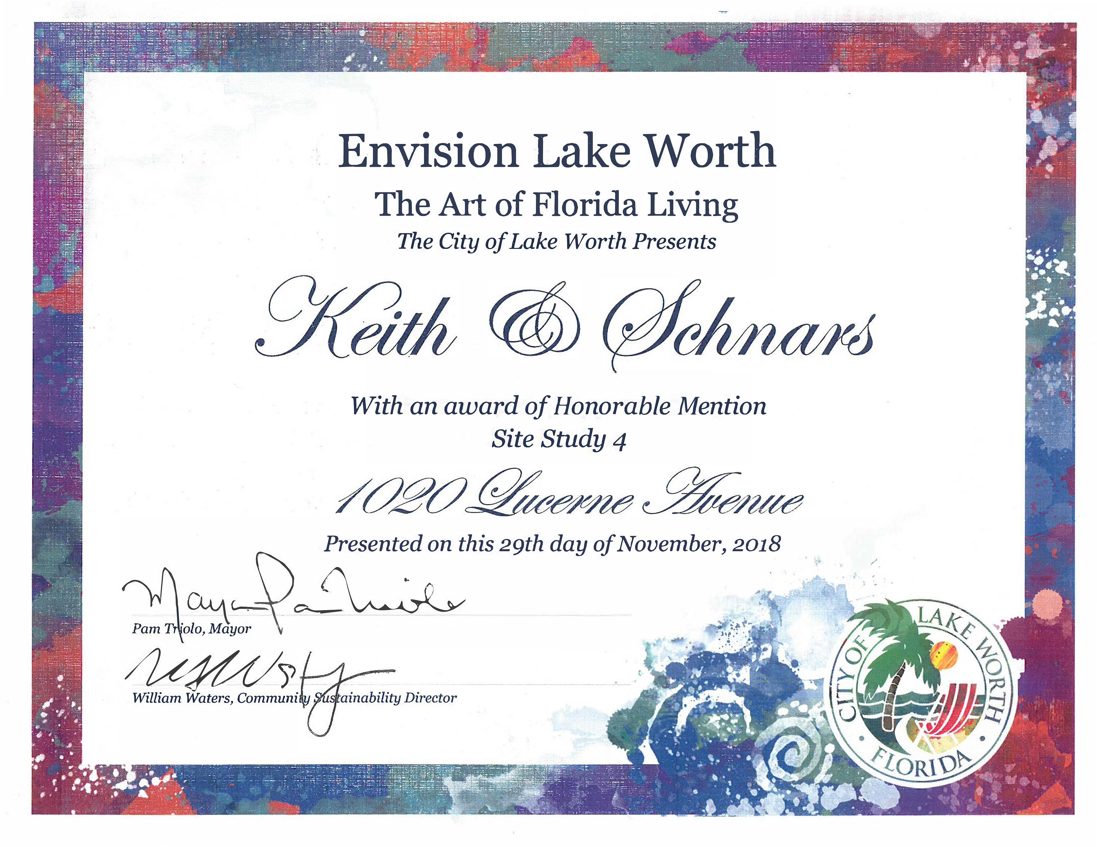 The Portfolio Of Brad Benmoshe Envision Lake Worth