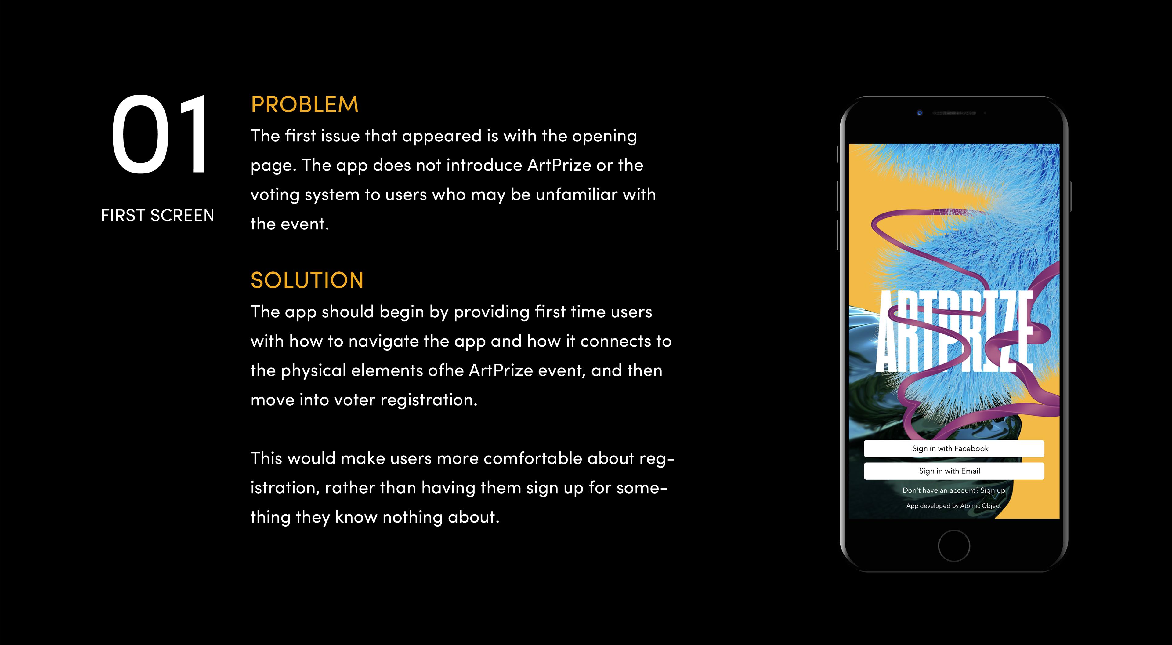Last Exit Studios - Heuristic Evaluation: ArtPrize Mobile App