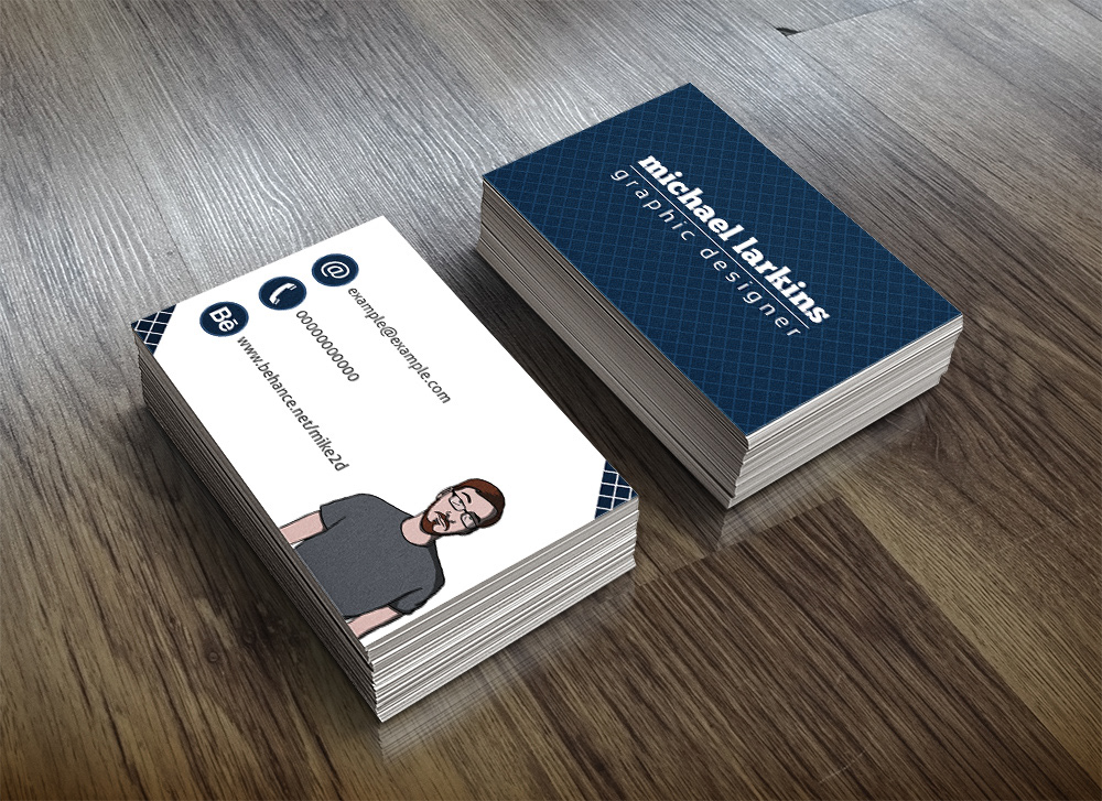 Mike Larkins - Personal Branding: Business Cards