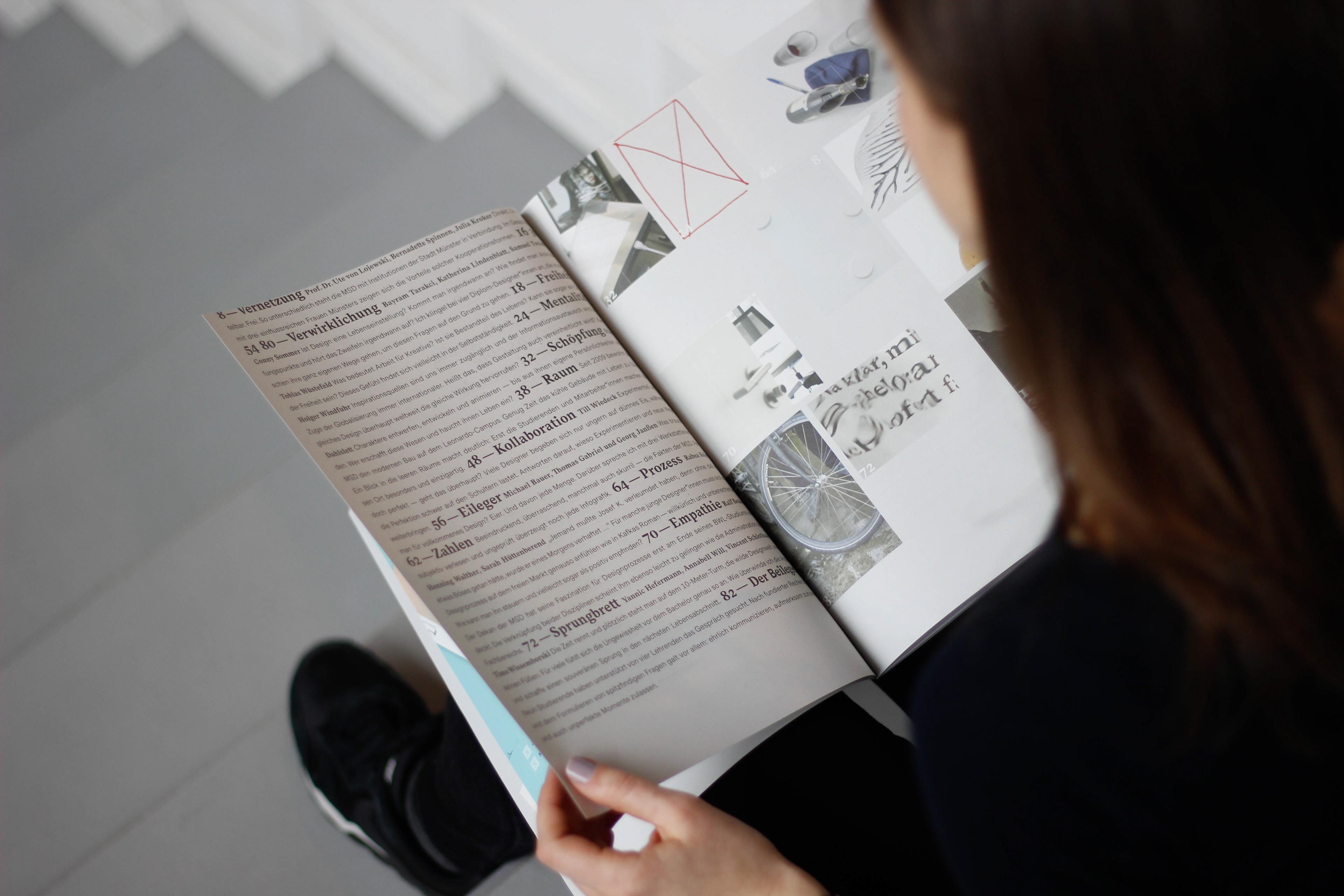 Marie Reckendrees - Der Beileger | Editorial Design
