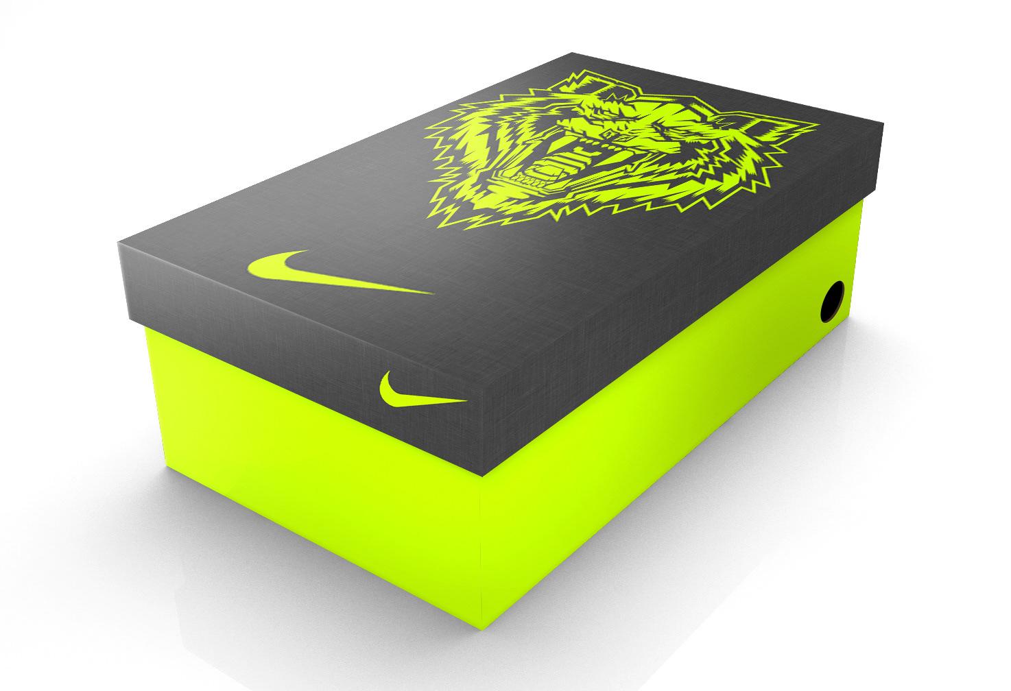 Greatest Orozco Design - Nike Football Cleat Shoe Box PU76