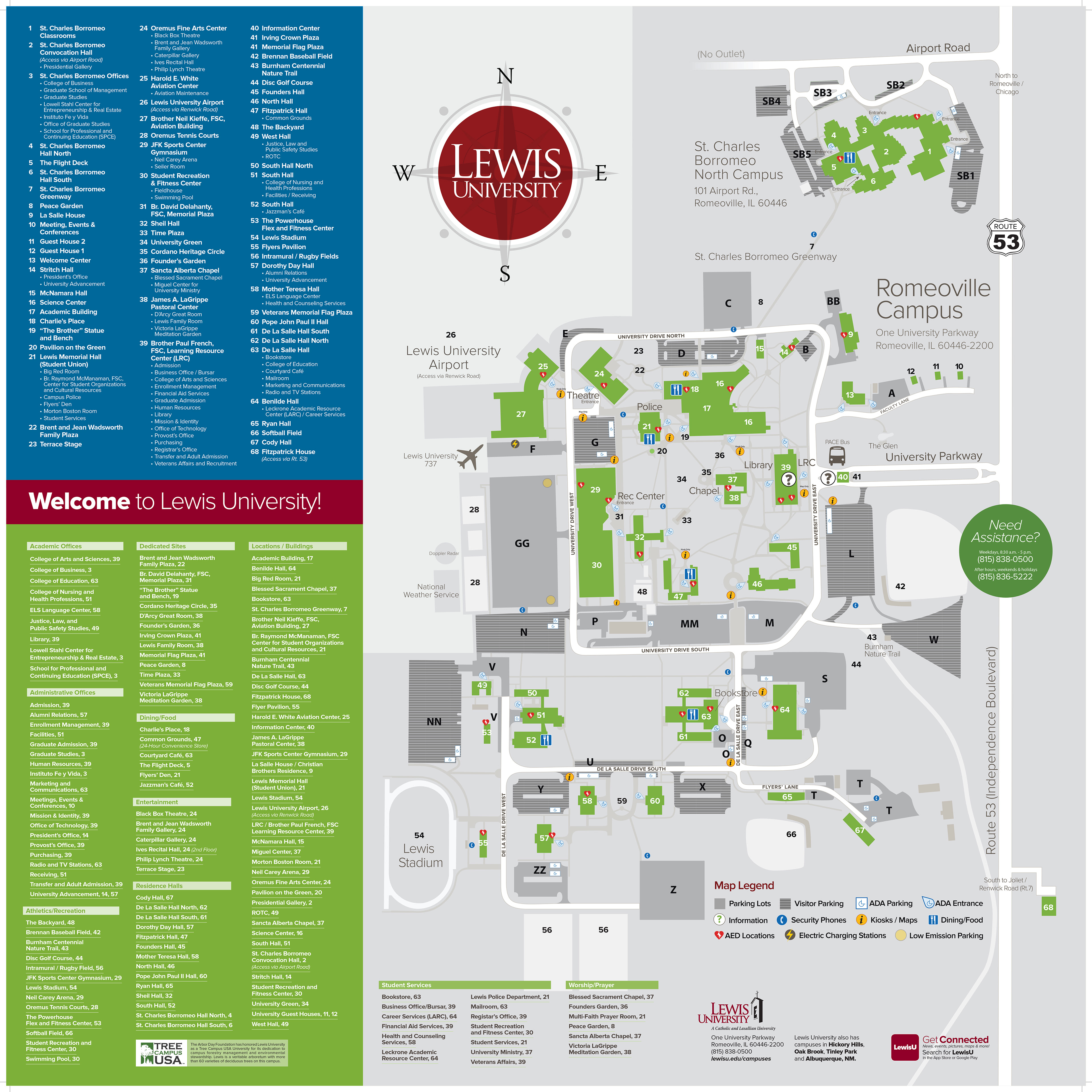 Natasha Zougras - Campus Map/Kiosk Map
