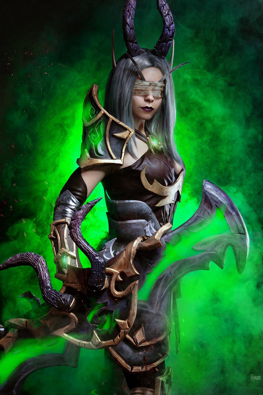Demon hunter cosplay wow