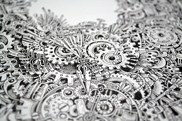 Kerby Rosanes Illustrator Portfolio Time Guardian
