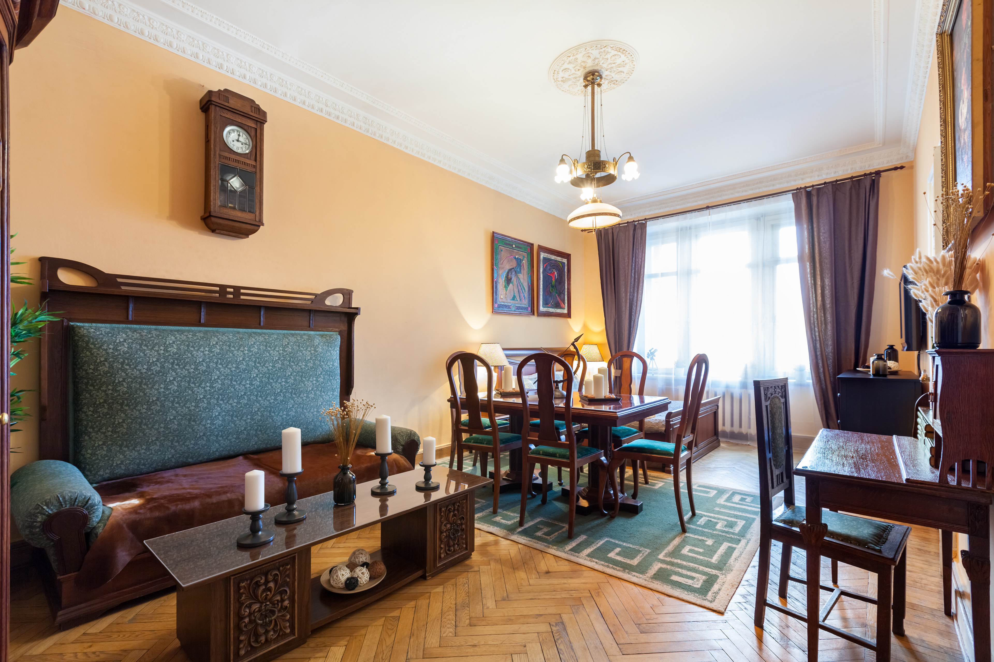 фото квартиры московской высотки прошлое смущает эстер