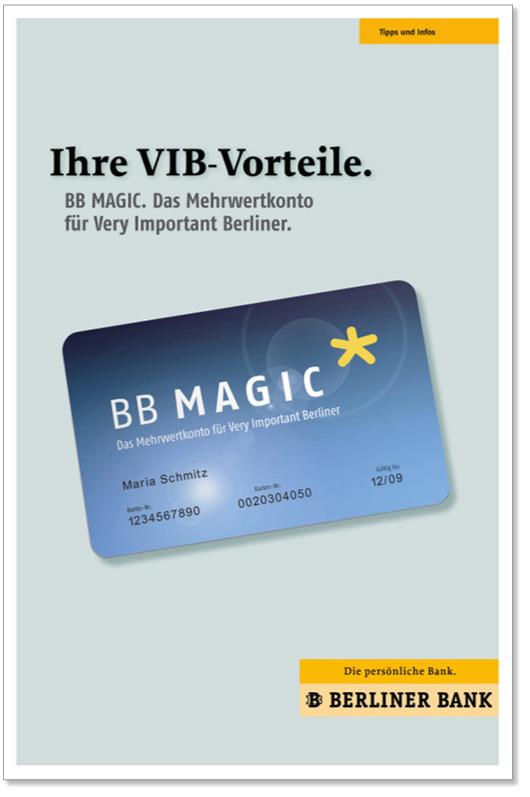Birgit Hirschmann Berliner Bank Bb Magic