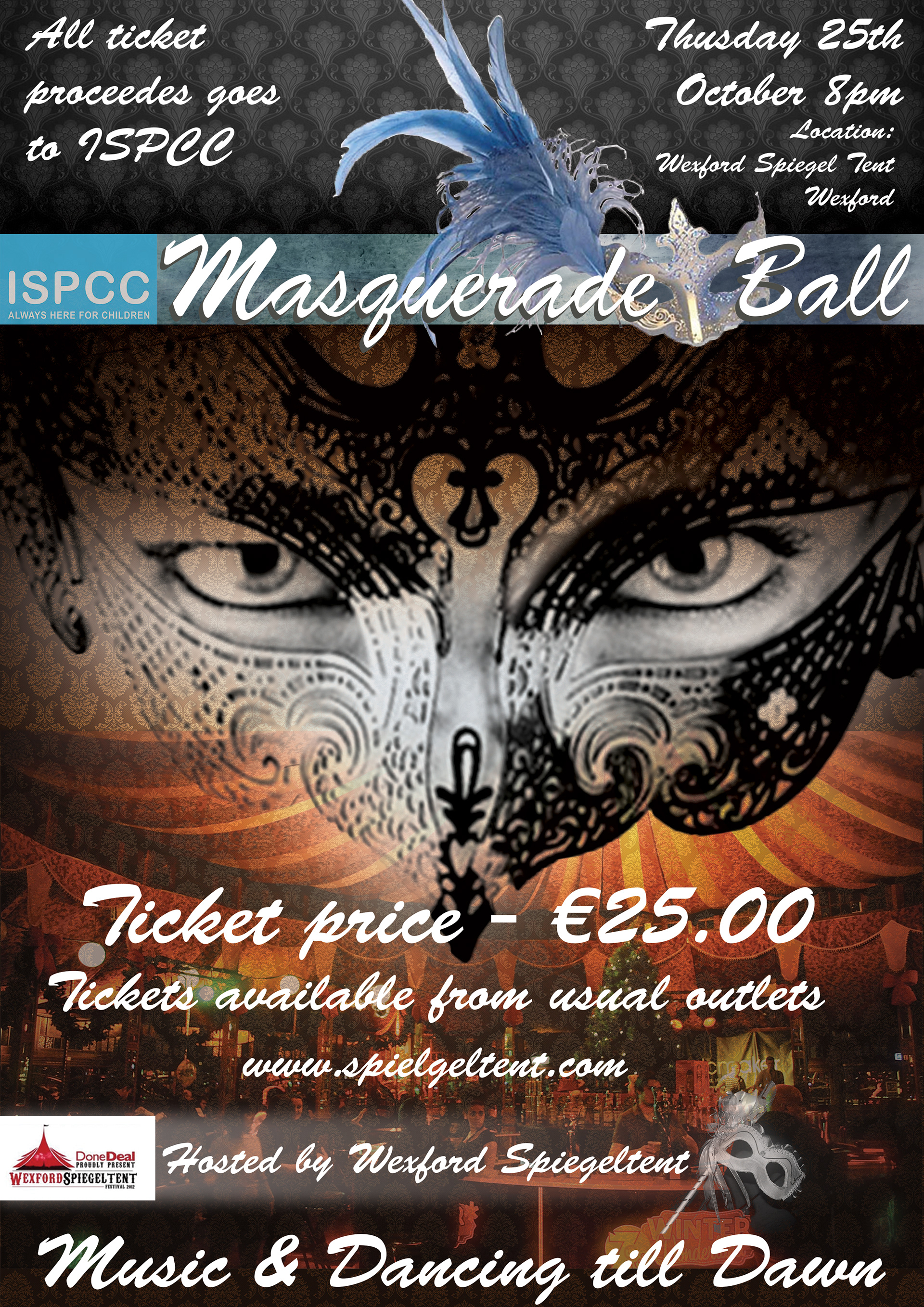 Masquerade Ball Poster College Assessment