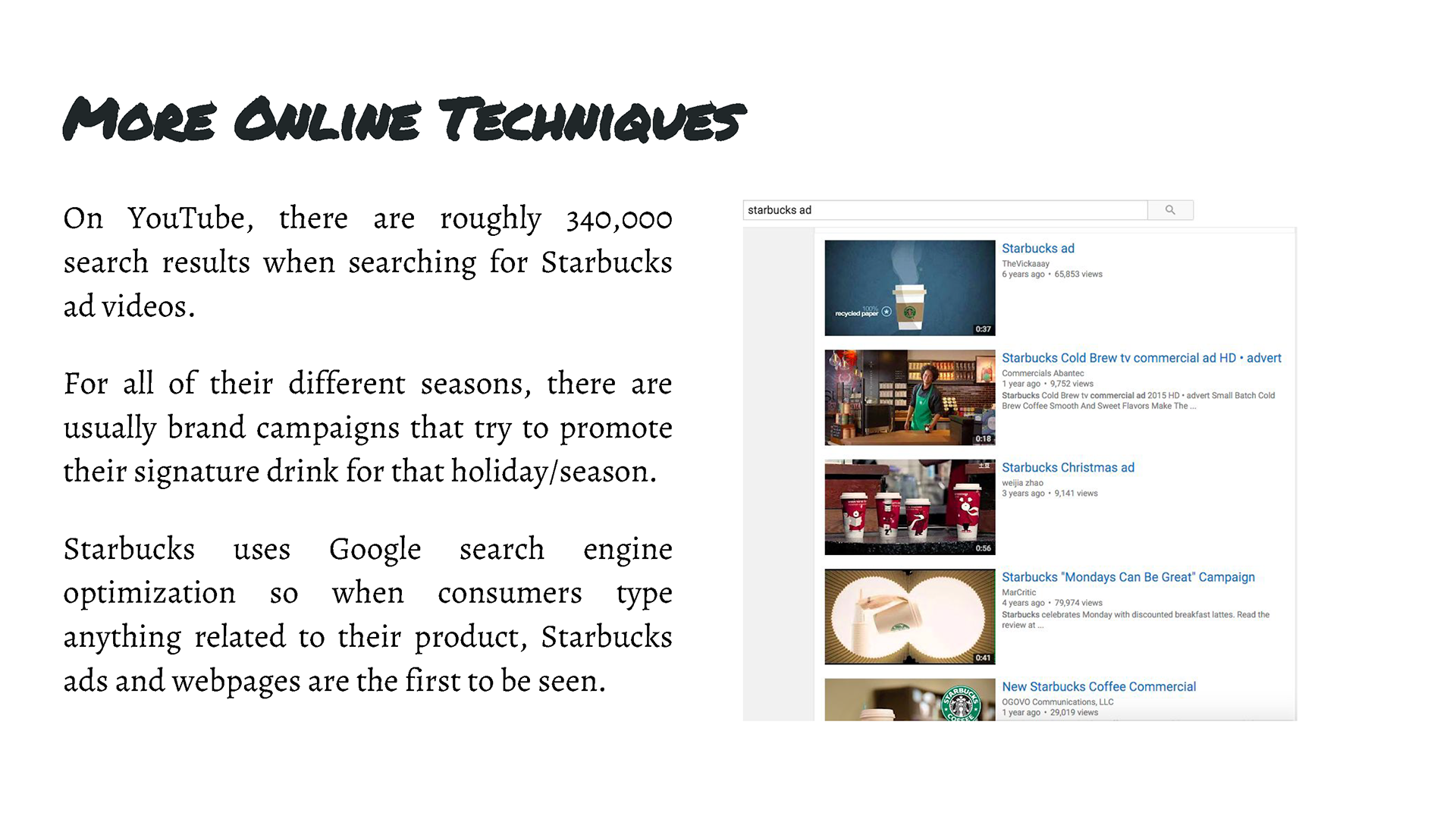Morgan Bayne - Starbucks