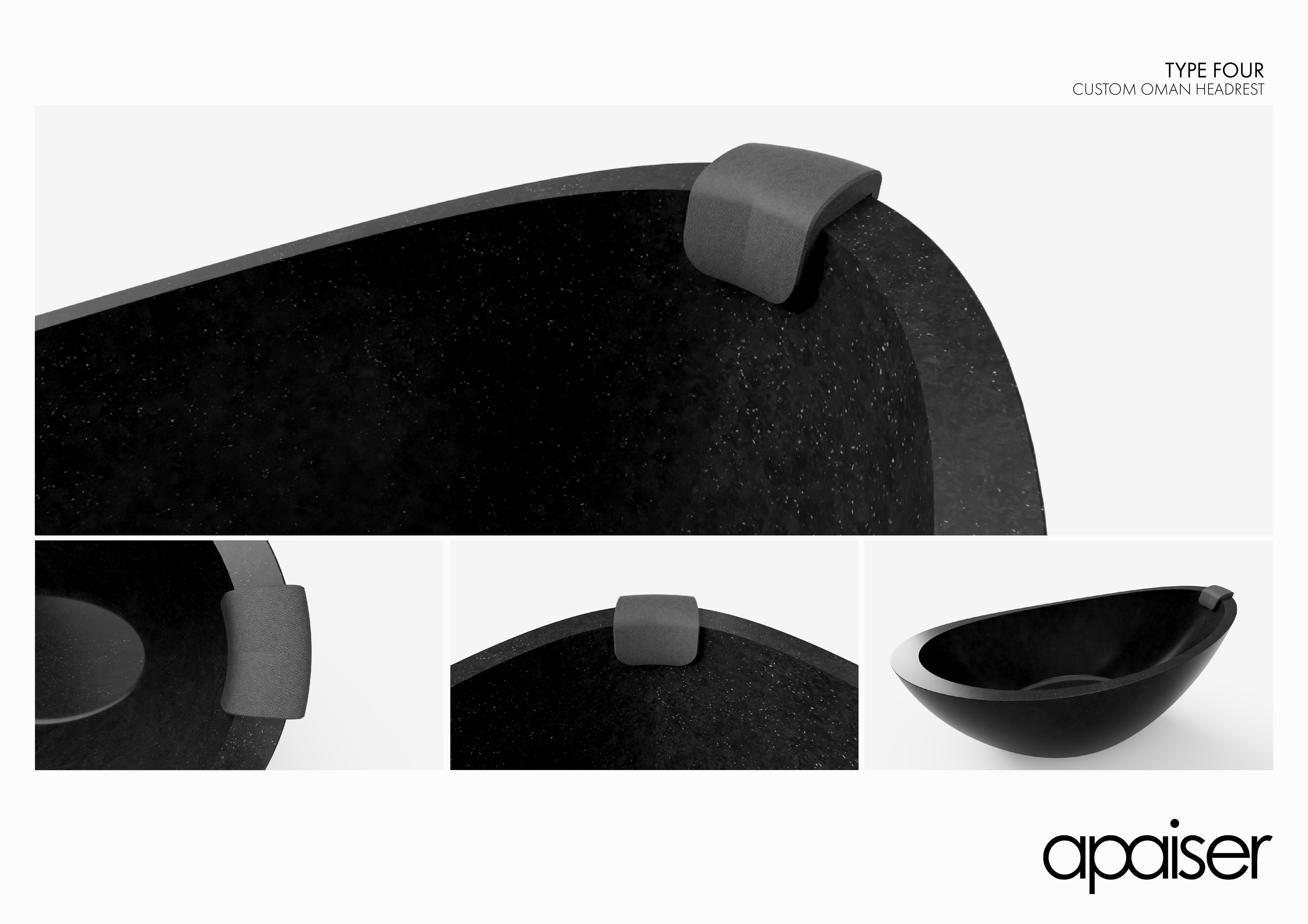 Lachlan Campbell   Industrial Designer - Oman Bath Headrests