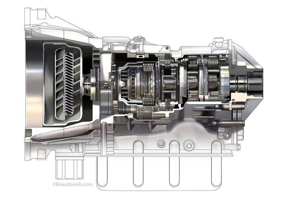 cutaway transmission