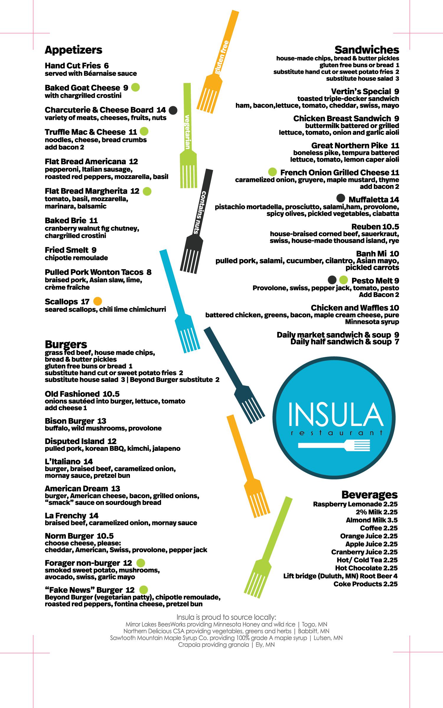 matthew wigdahl insula menu 2018