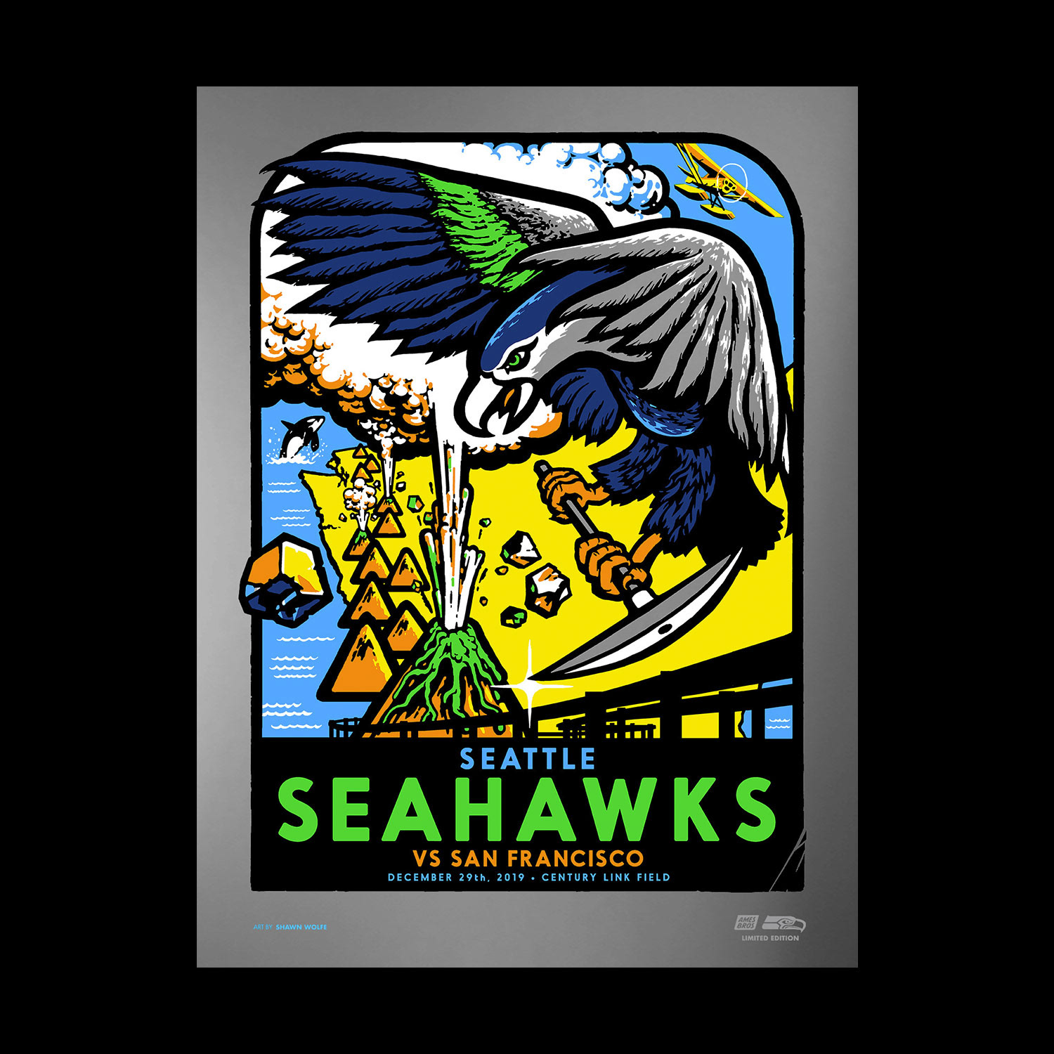 Ames Bros Official Site Seattle Seahawks