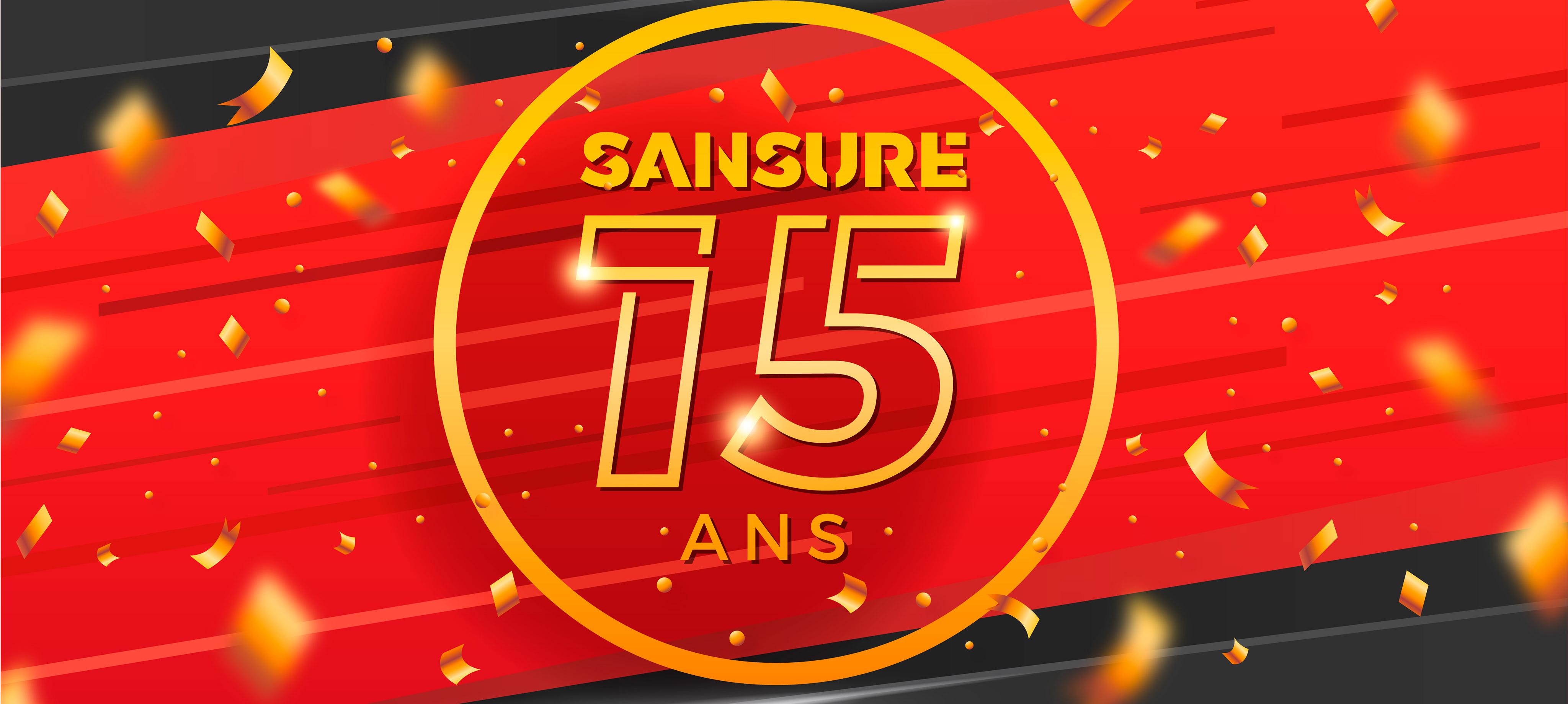 #15ansSANSURE