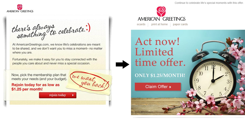 Olivia Vitou American Greetings Marketing Emails