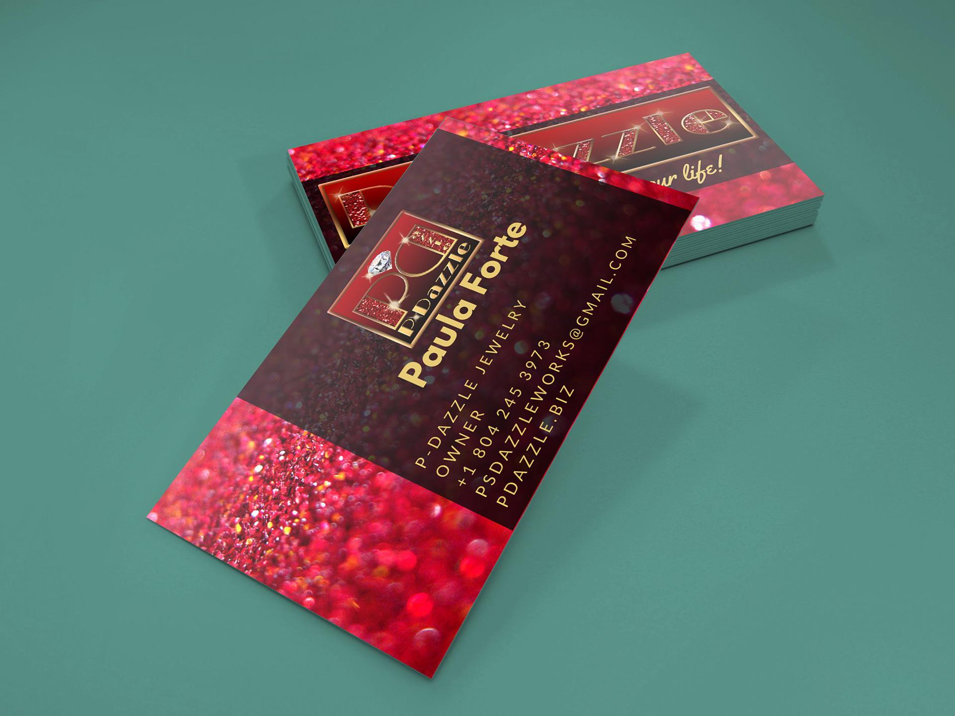 Digital Made Simple Portfolio - P-Dazzle Business Cards