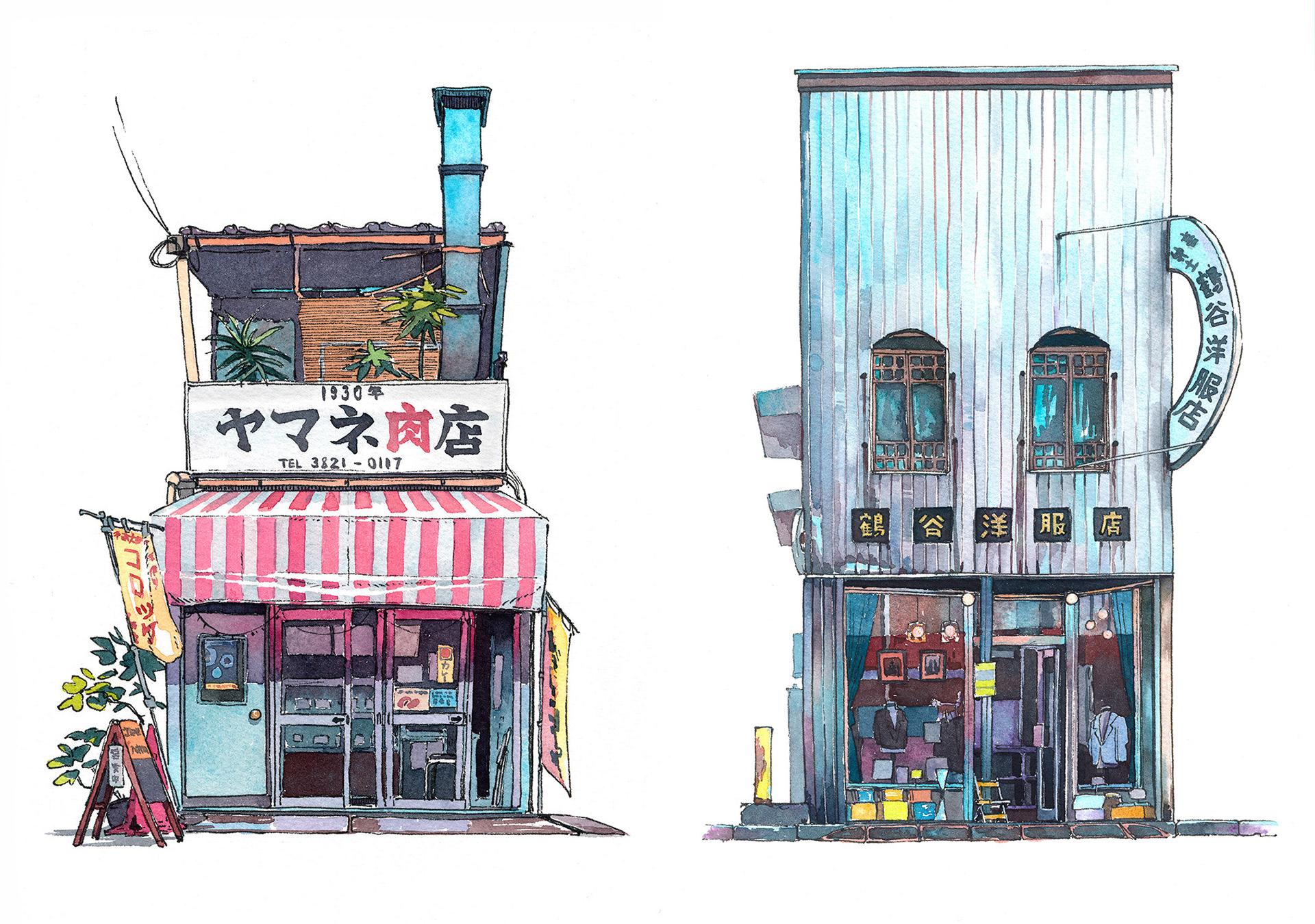 Mateusz Urbanowicz Quot Tokyo Storefront Quot Series