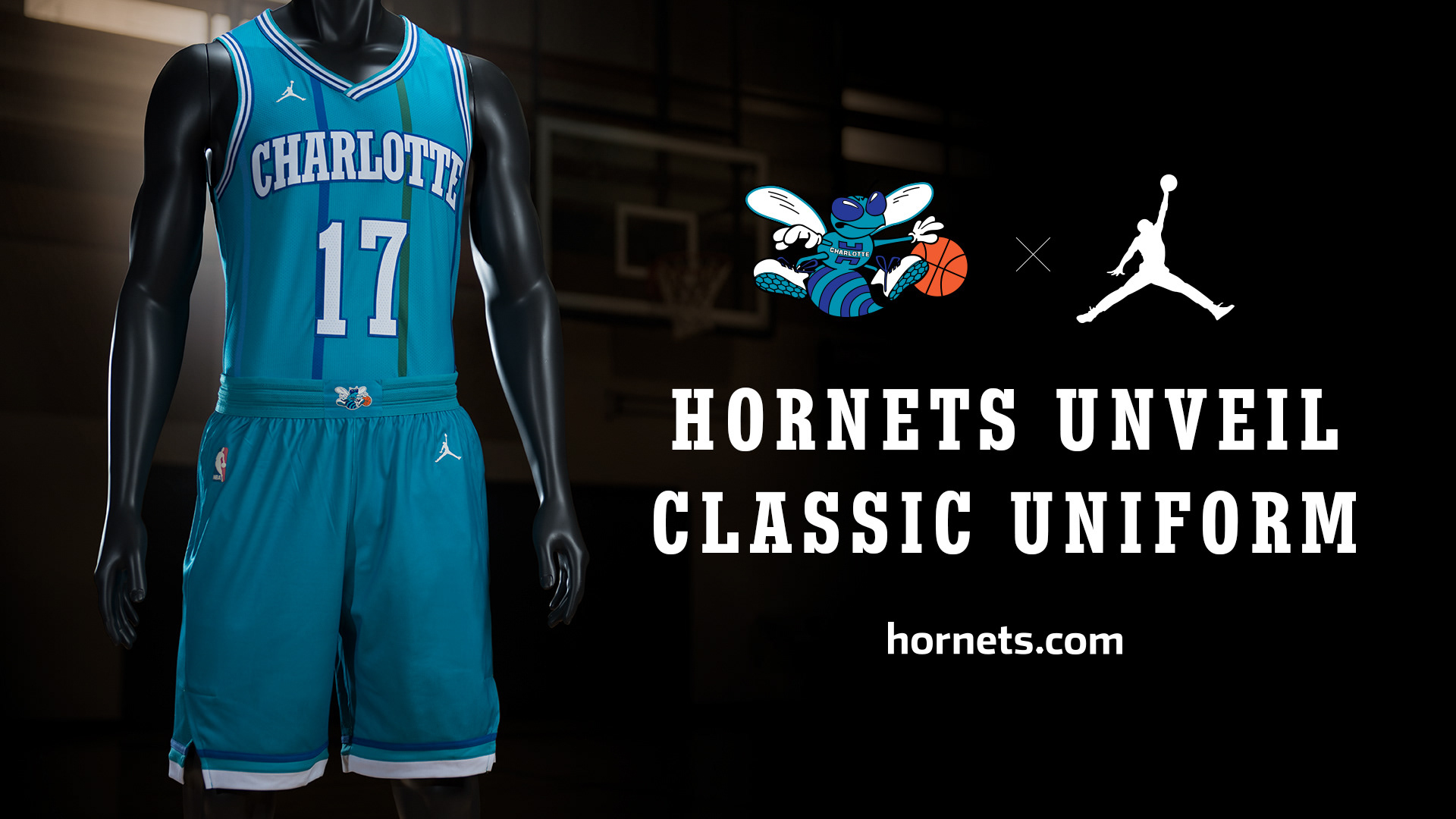 9432c76c3fc Charlotte Hornets - Classic Uniform Launch