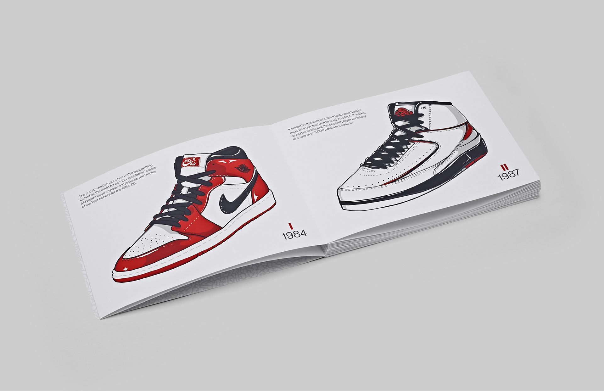 14b1b56e6d3e8 Vasava. Design   Branding agency - The Evolution of Air Jordan
