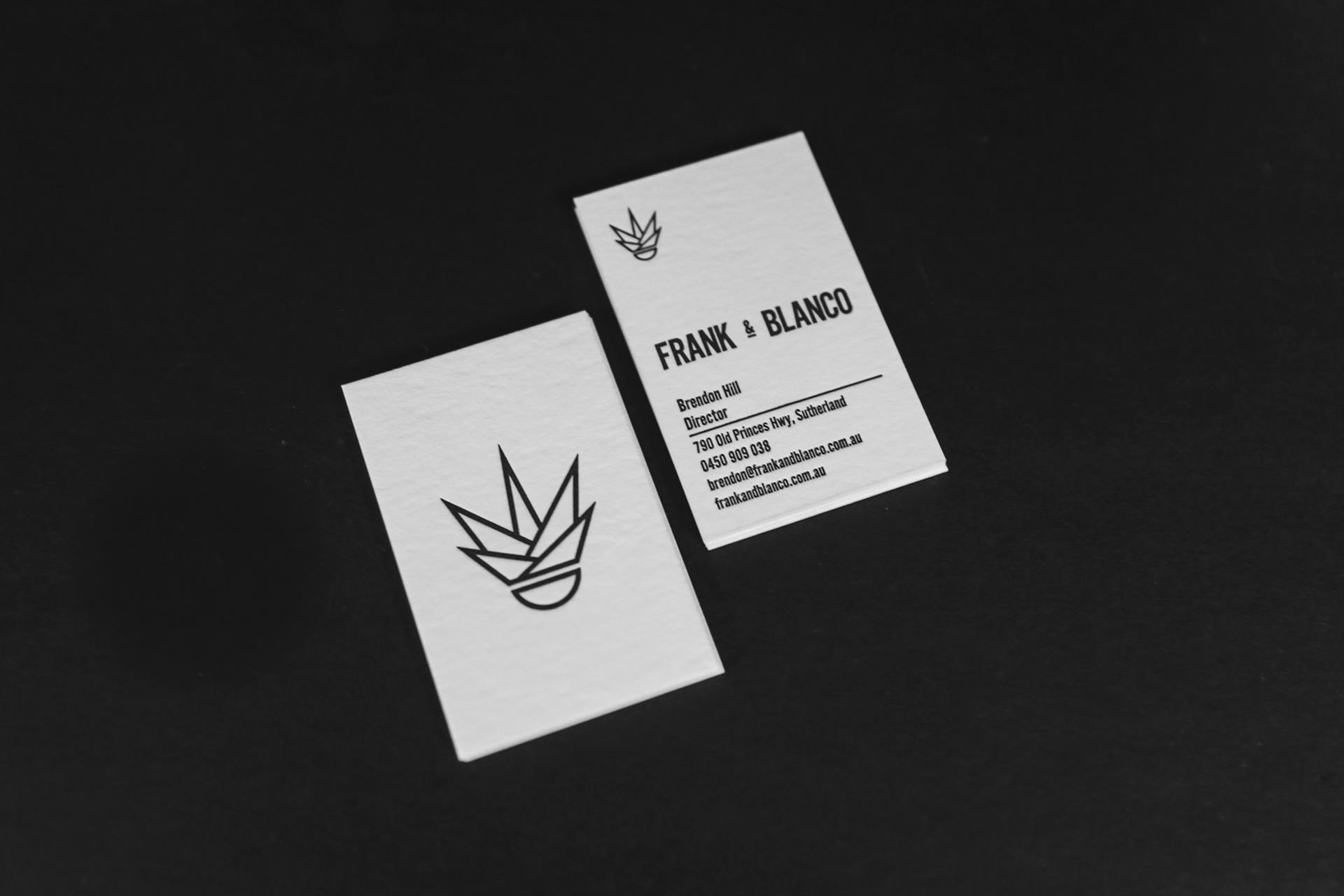 Luke Tuxford - Frank & Blanco