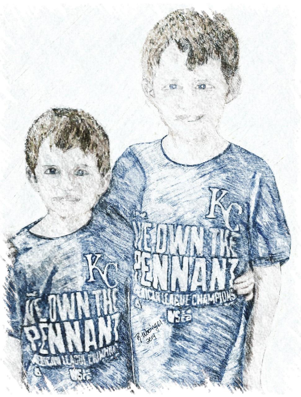 Adobe illustrator pencil sketch drawings