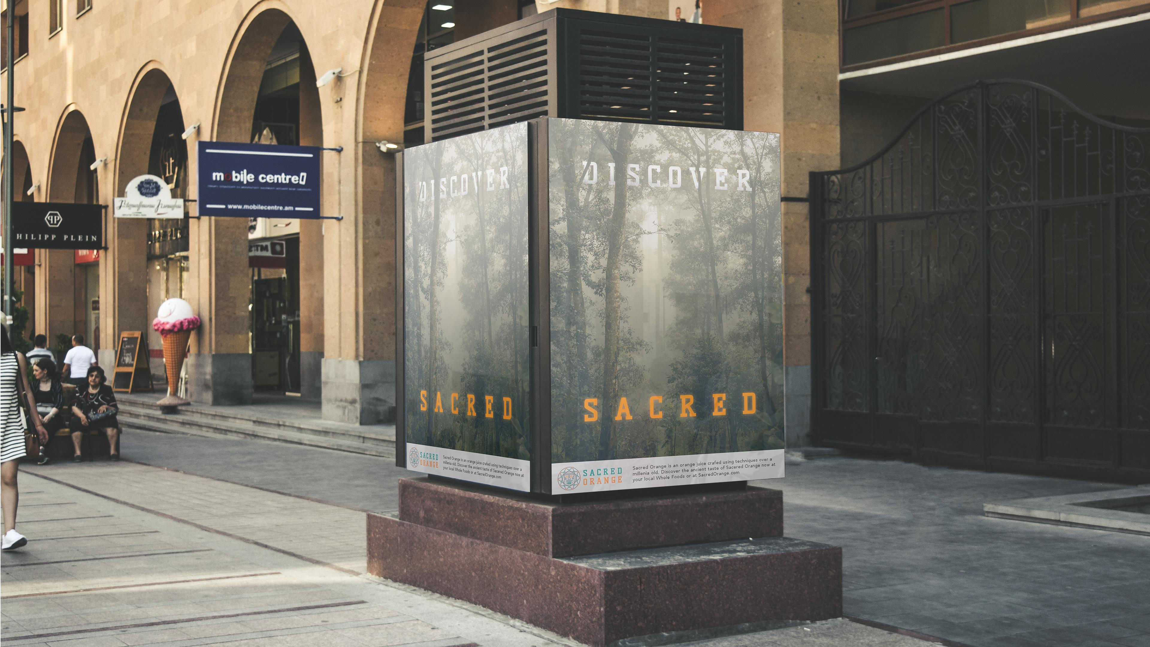 Michael Diomede Sacred Orange Branding & Packaging