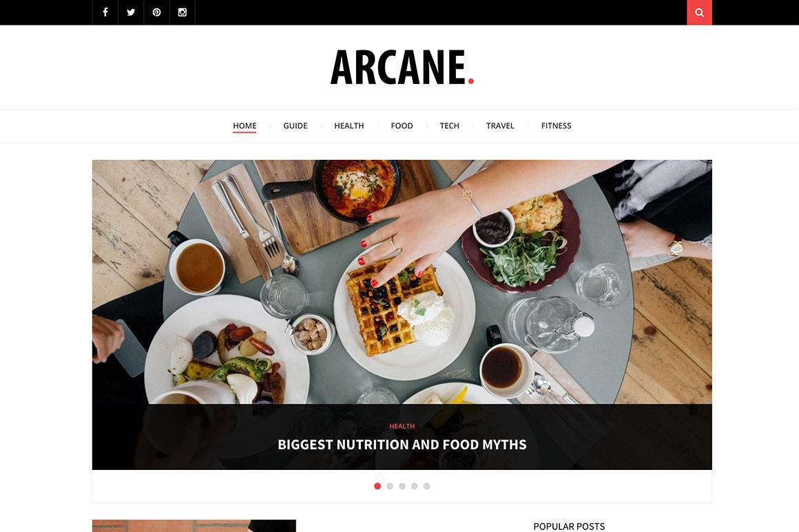 DEOUR - Webdesign Resources & Development - Arcane - Modern