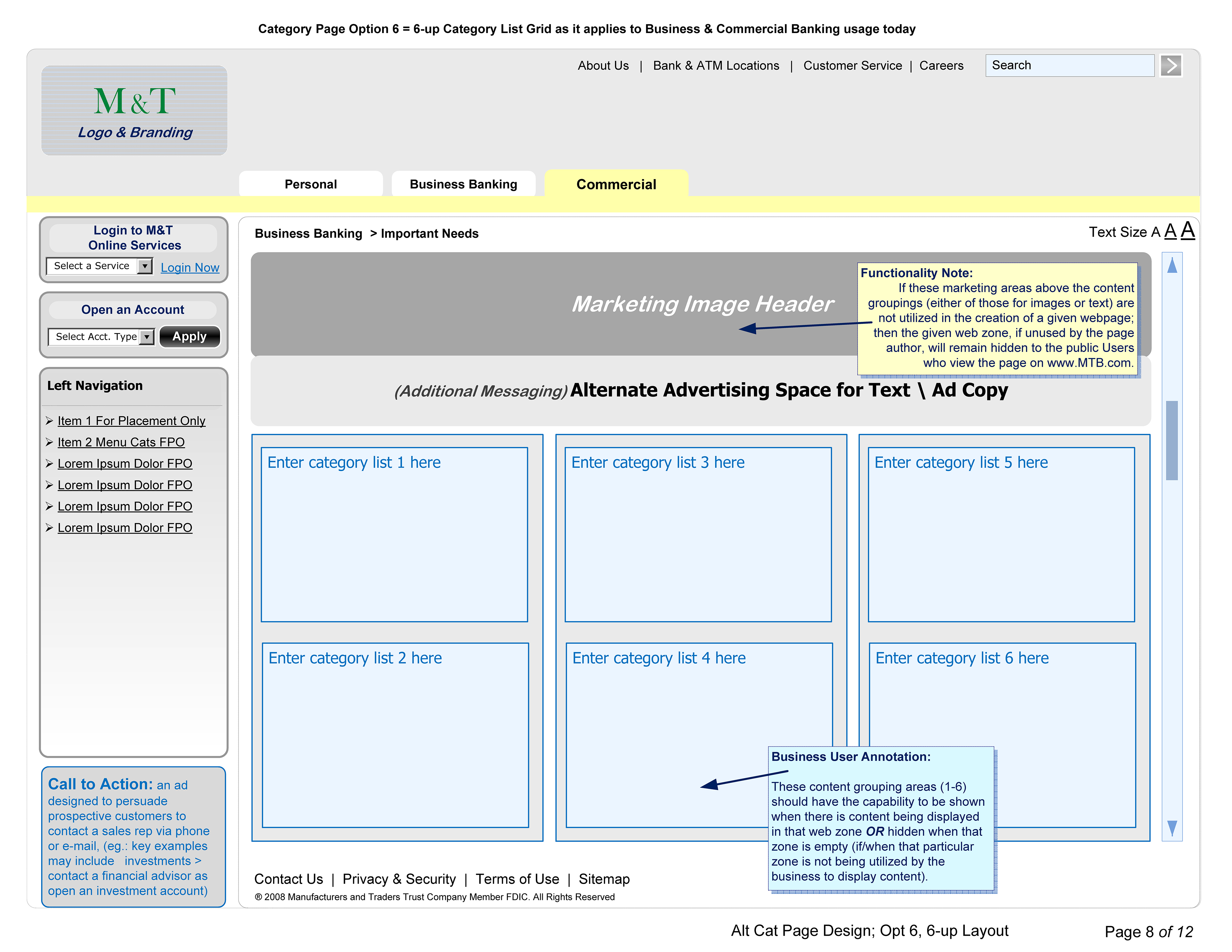 Rob Dornbush Wireframes For Banking Clients Mt Public Ftb Ops Atm Wireframe Diagram