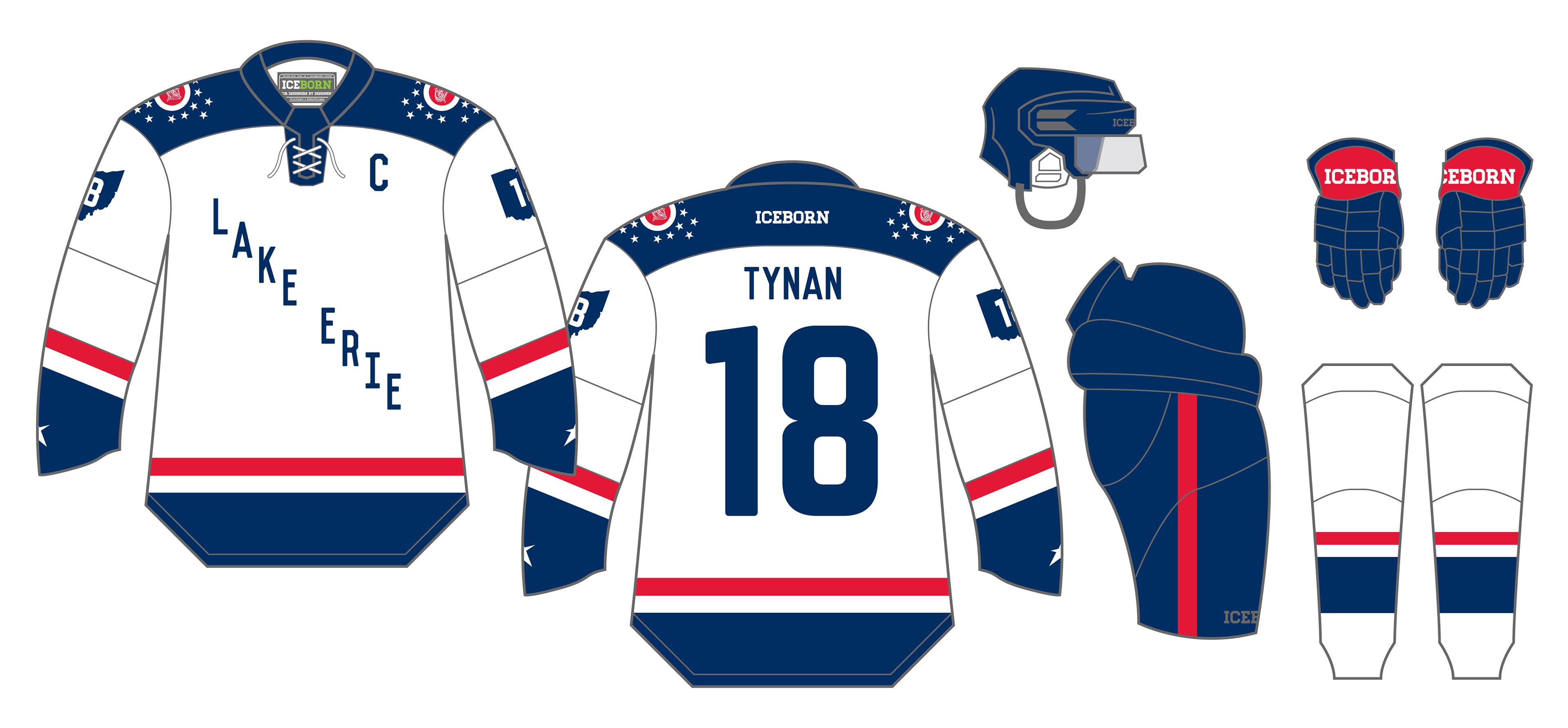 Shirt design concepts - Chiller Adult Hockey League Cahl Jersey Designs