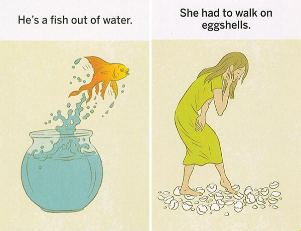 Tracy Sabin - Idioms Illustrated